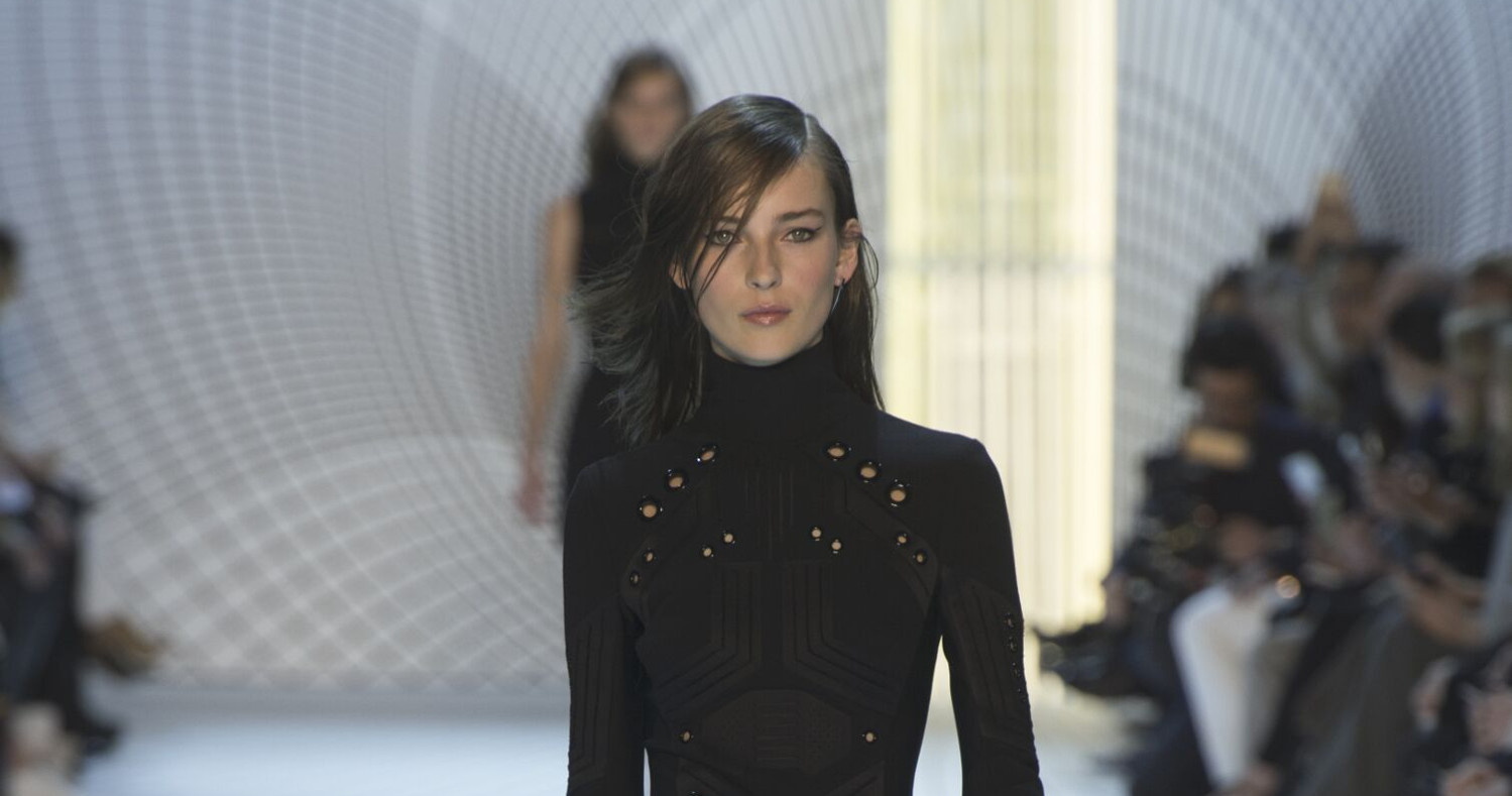 Fall Fashion Woman Mugler Collection 2015
