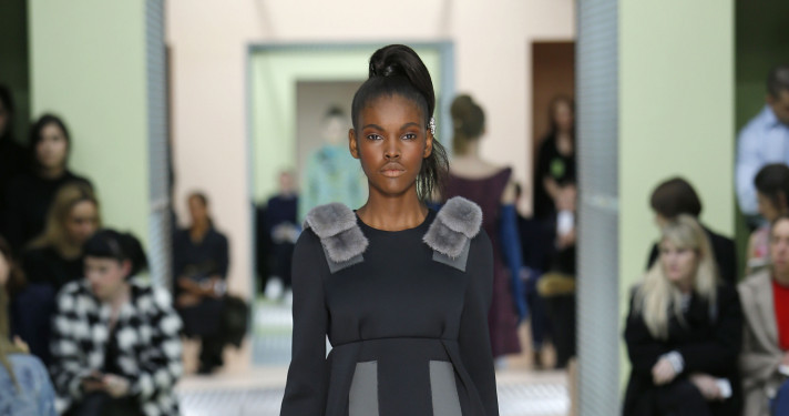 Fall Fashion Woman Prada Collection 2015