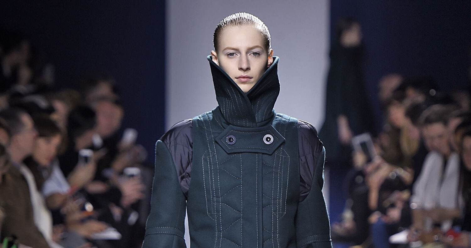 Fall Fashion Woman Sacai Collection 2015