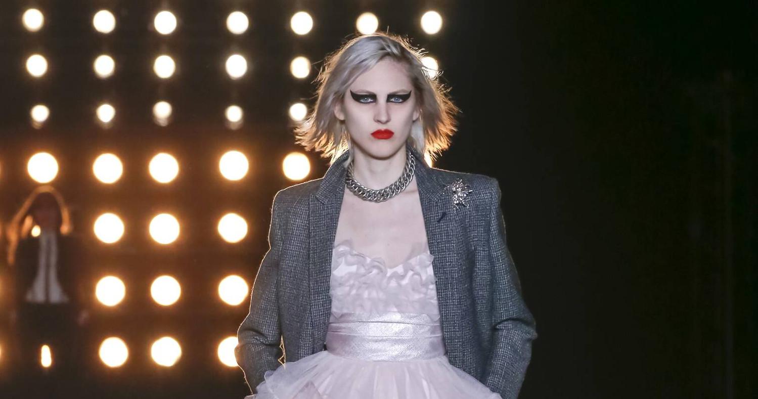 Fall Fashion Woman Saint Laurent Collection 2015