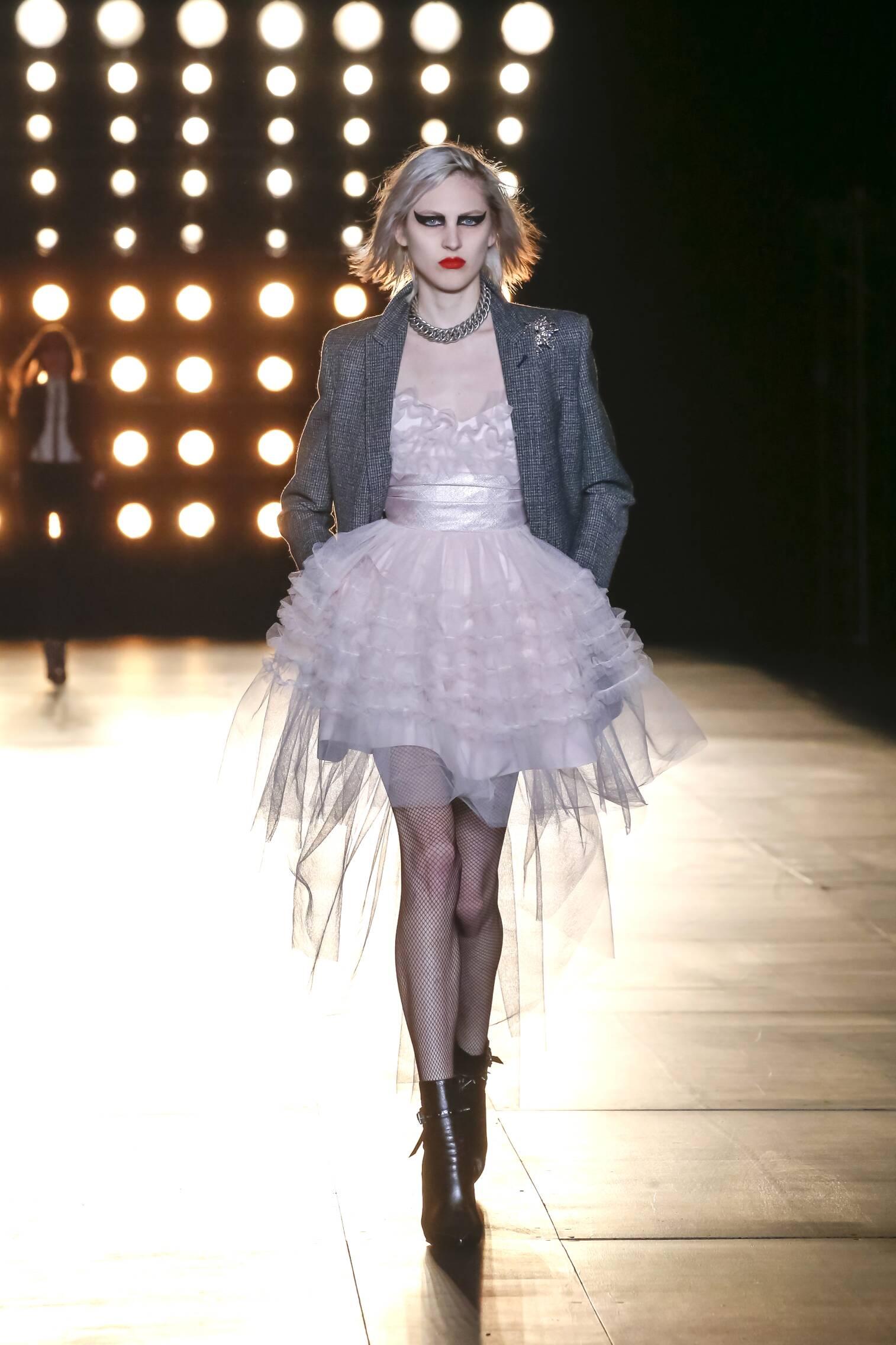 Fall Fashion Woman Saint Laurent Collection