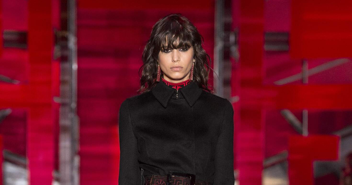 Fall Fashion Woman Versace Collection 2015