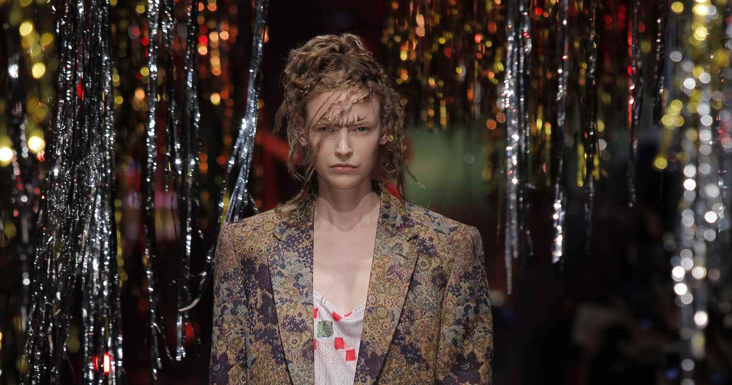 Fall Fashion Woman Vivienne Westwood Gold Label Collection 2015