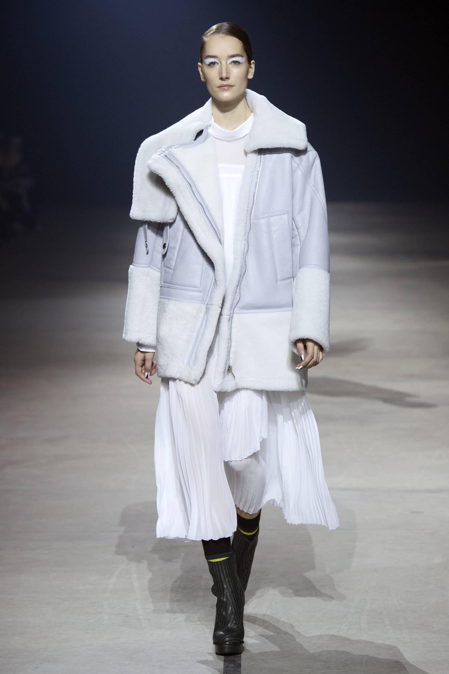 Fall Kenzo Collection Fashion Women Model