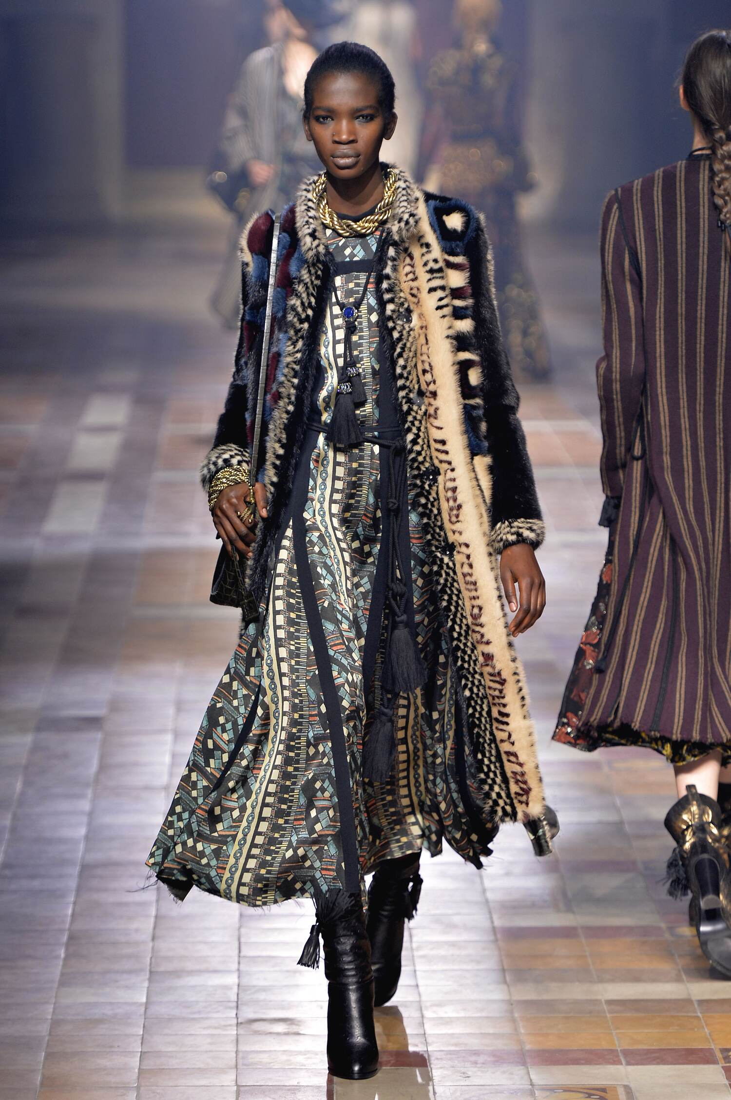 Fall Lanvin Collection Fashion Women Model