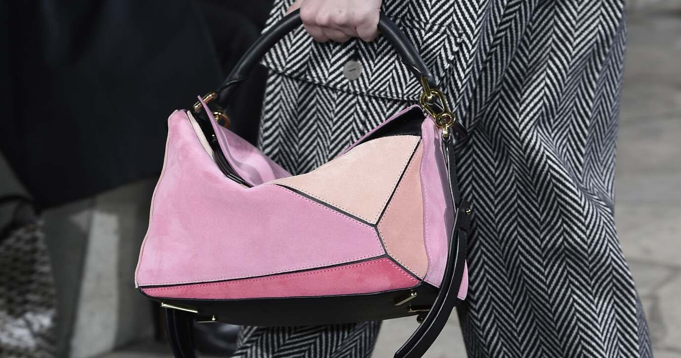 Fall Loewe Bag Detail Collection Fashion Women 2015