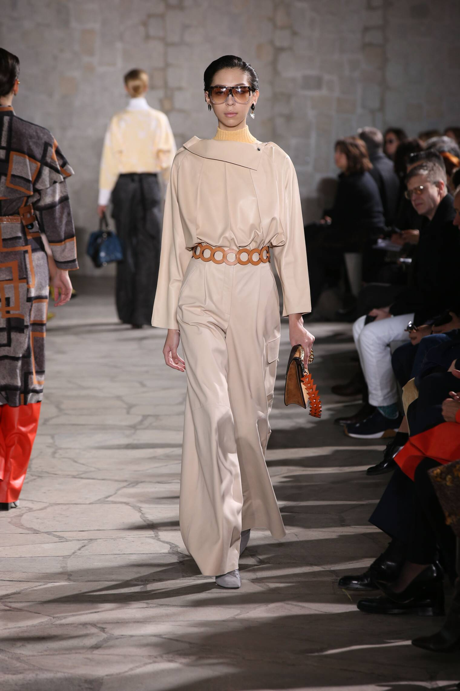 Fall Loewe Collection Fashion Women Model