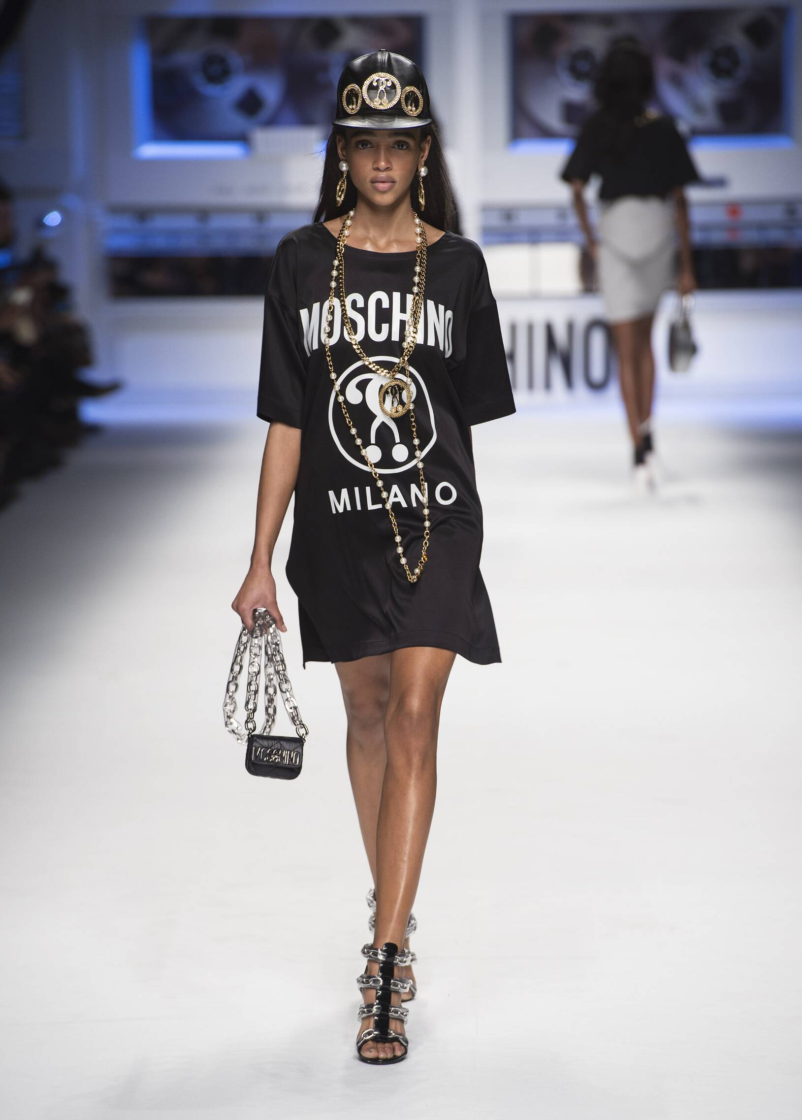Fall Moschino Collection Fashion Women Model