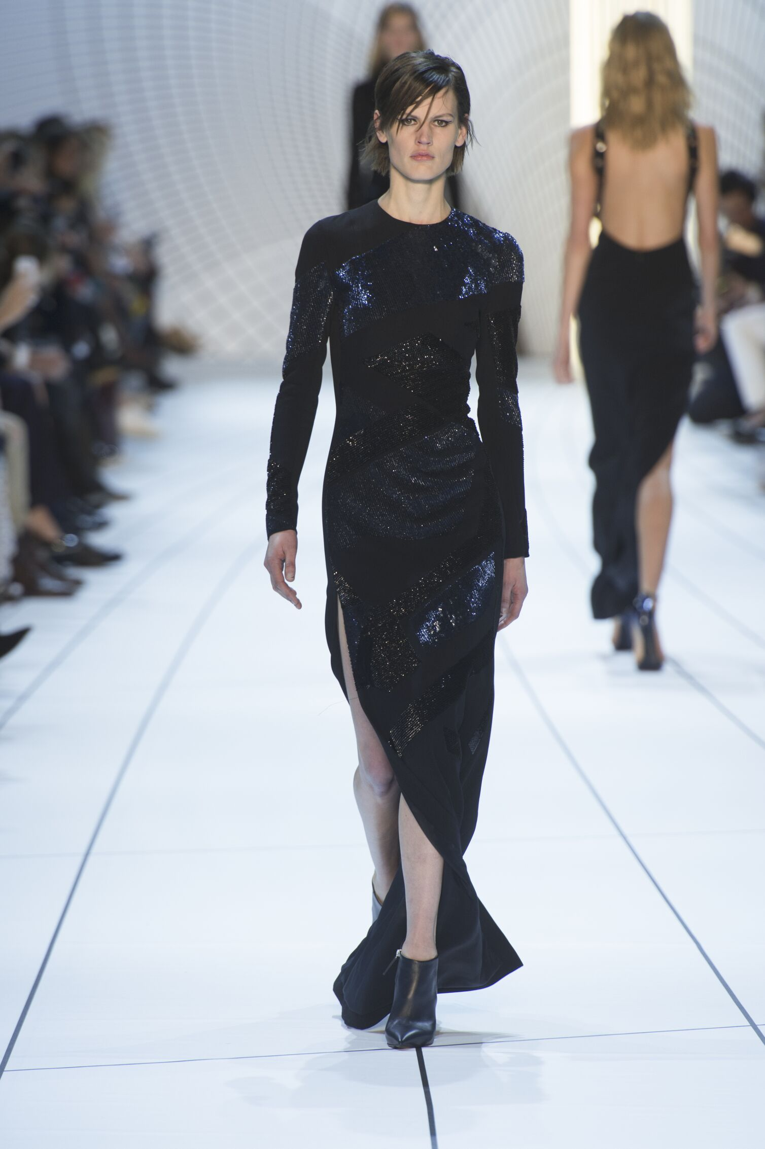 Fall Mugler Collection Fashion Women Model