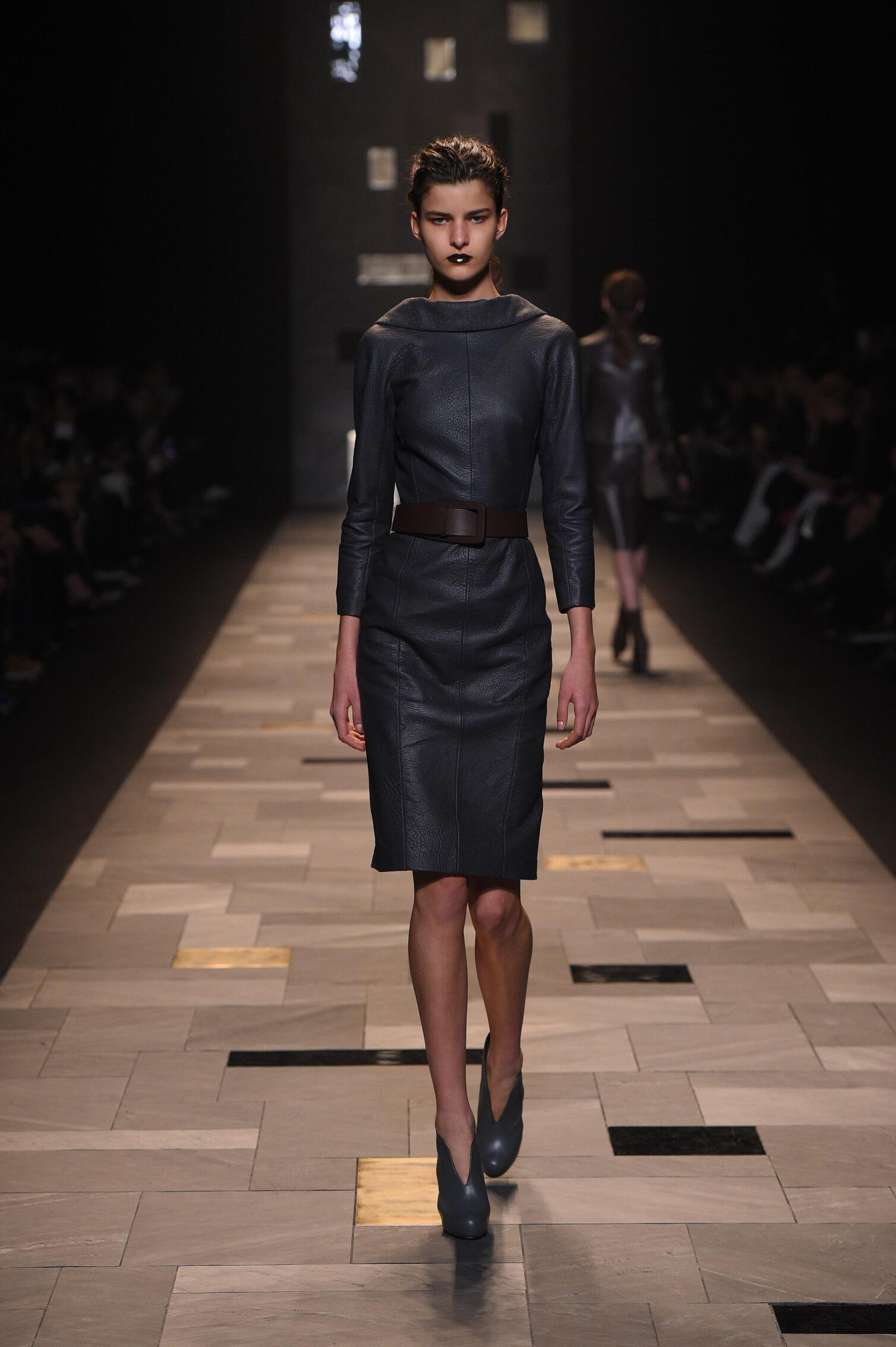 Fall Winter 2015 16 Fashion Collection Trussardi