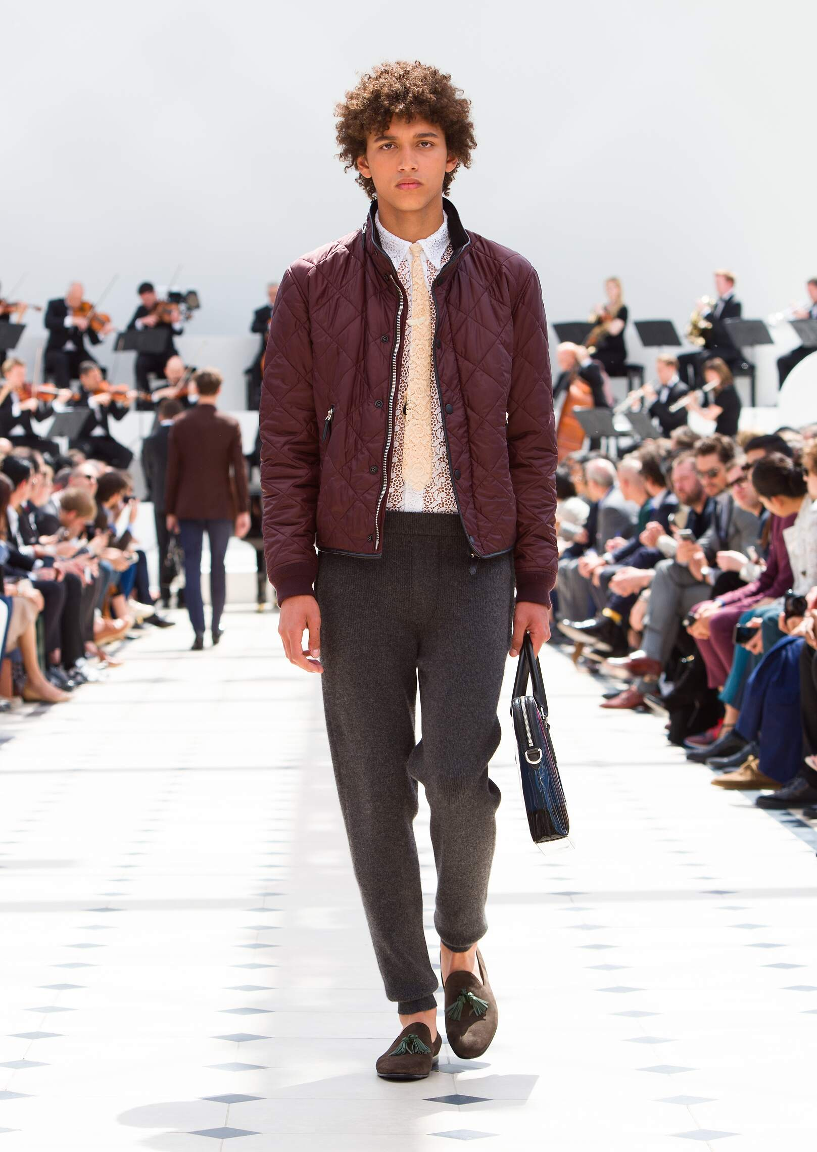 Fashion Menswear Burberry Prorsum Collection Catwalk