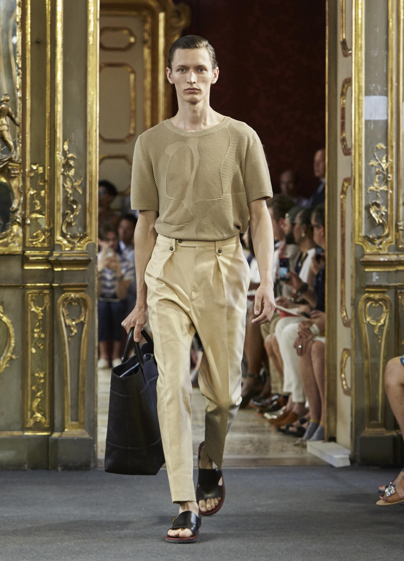 Fashion Menswear Corneliani Collection Catwalk