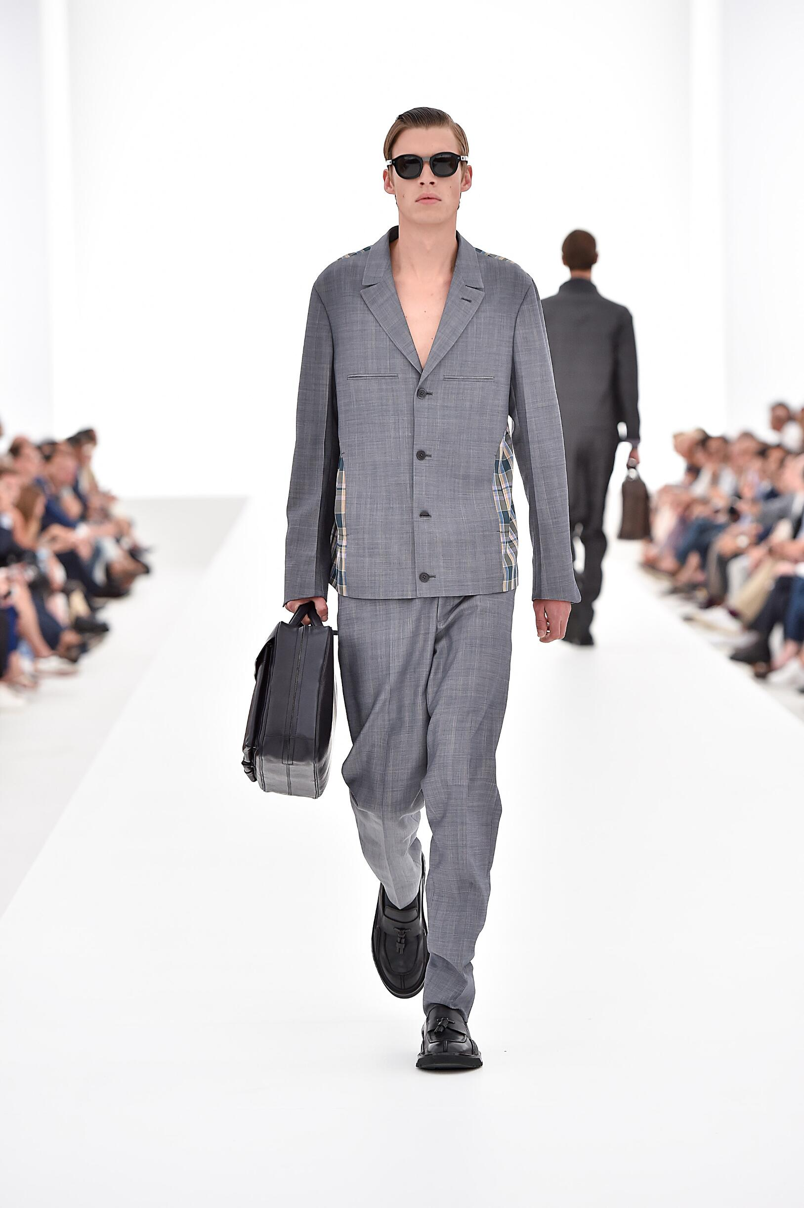 Fashion Menswear Ermenegildo Zegna Couture Collection Catwalk