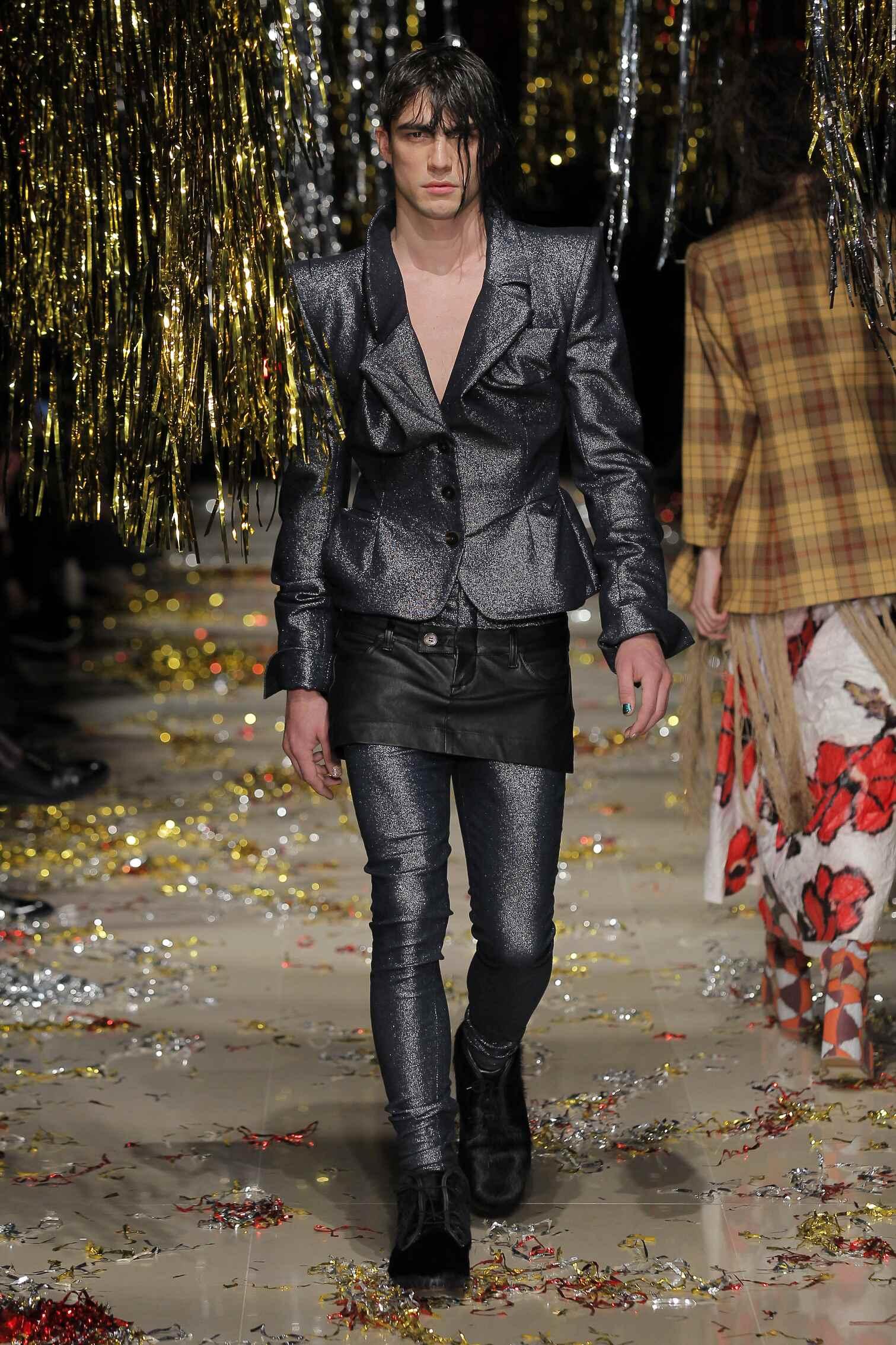 Fashion Menswear Vivienne Westwood Gold Label Collection Catwalk