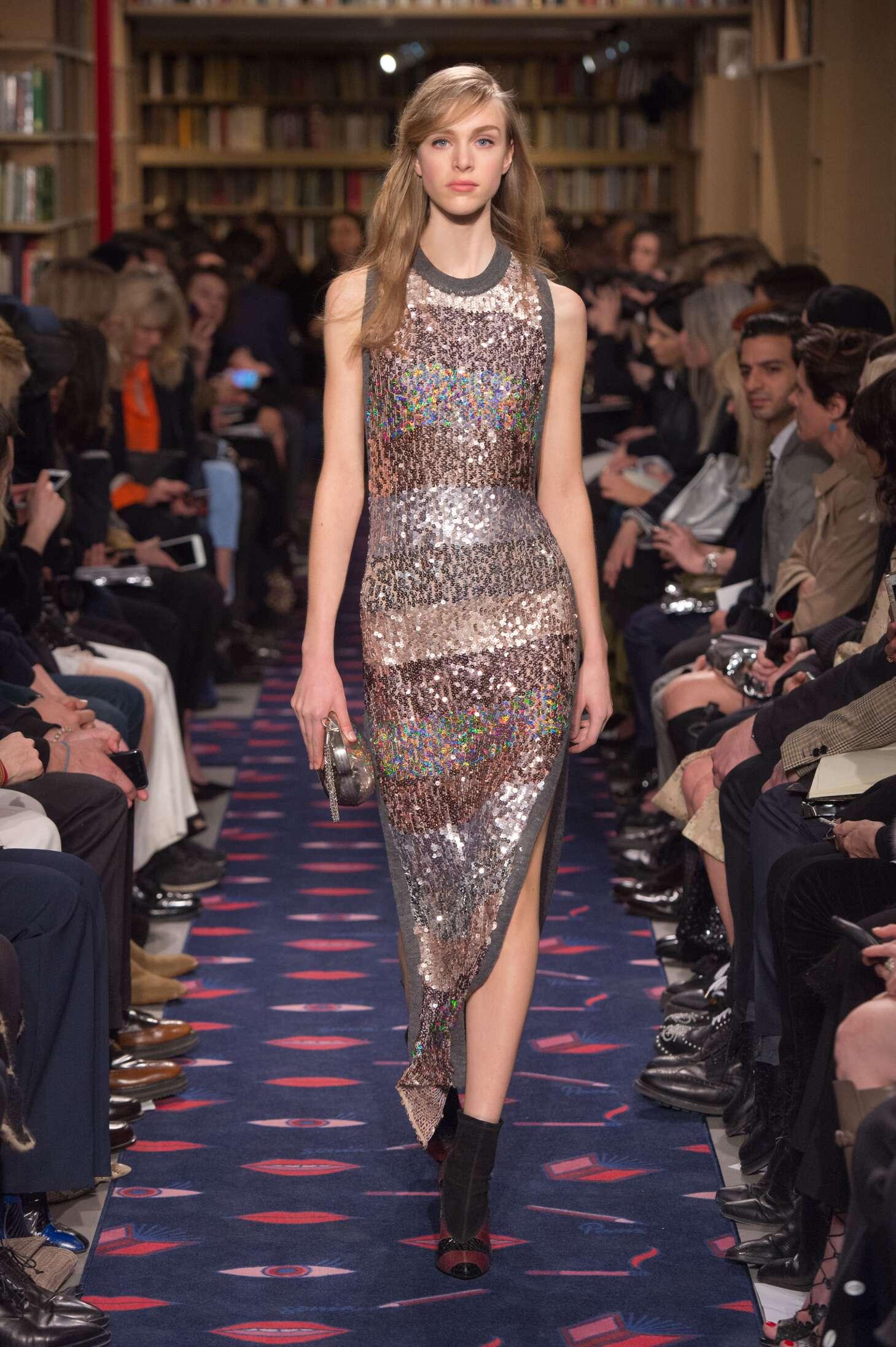 Fashion Show FW 2015 2016 Sonia Rykiel Womenswear