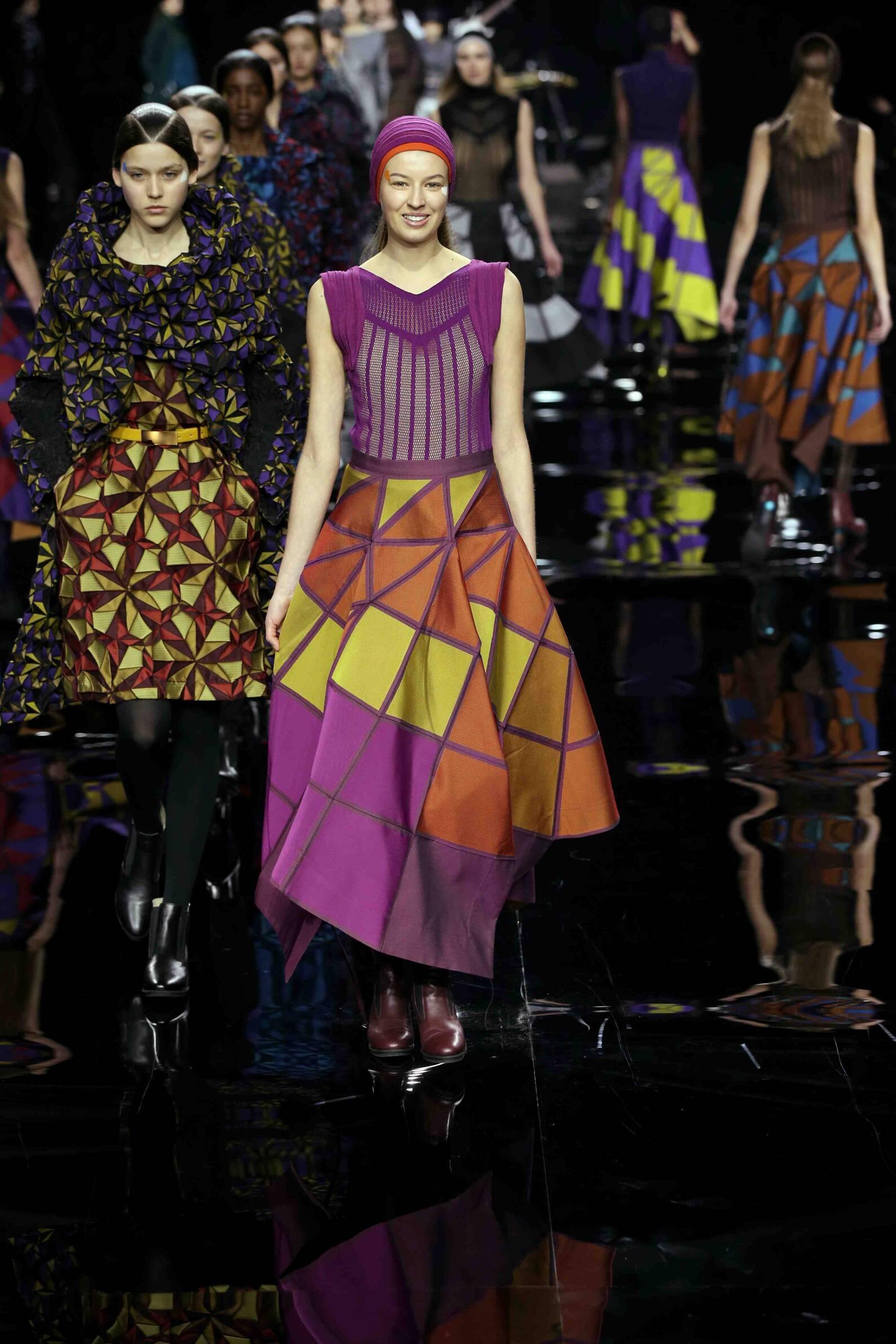Fashion Winter Trends 2015 2016 Issey Miyake