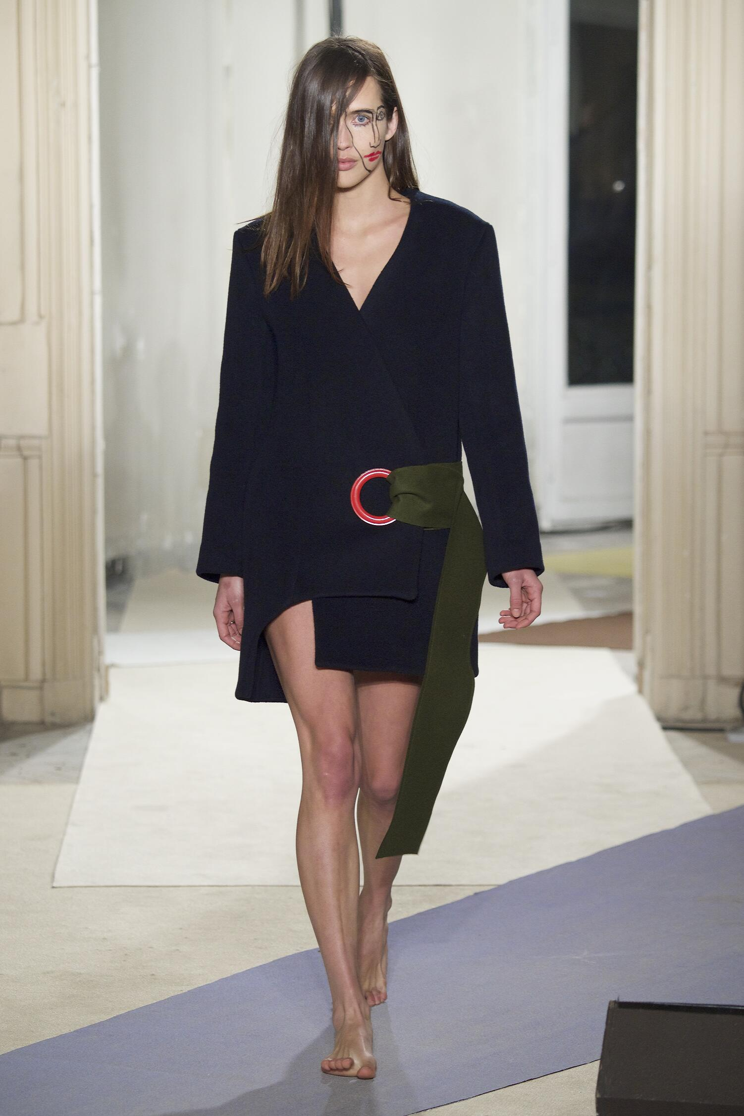Fashion Woman Model Jacquemus Collection Catwalk