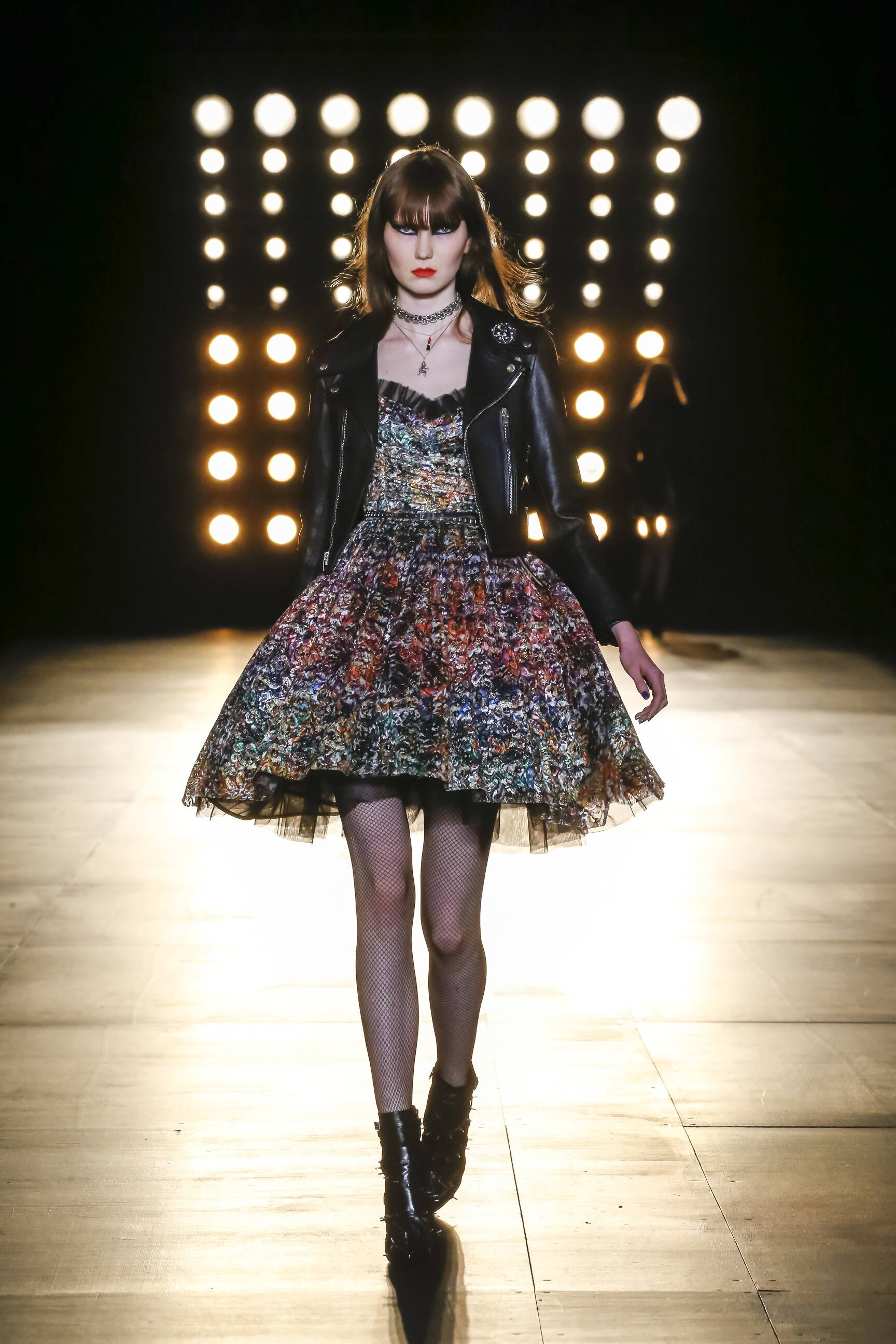 Fashion Womenswear Saint Laurent Collection Catwalk