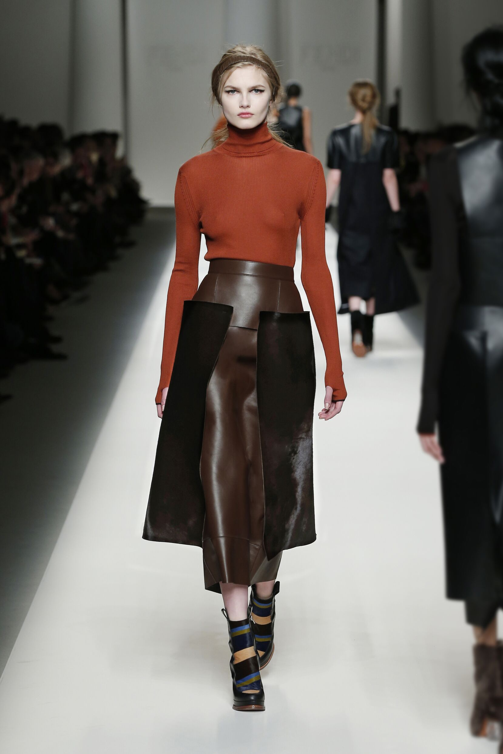 Fendi Collection Milan Fashion Week Womenswear