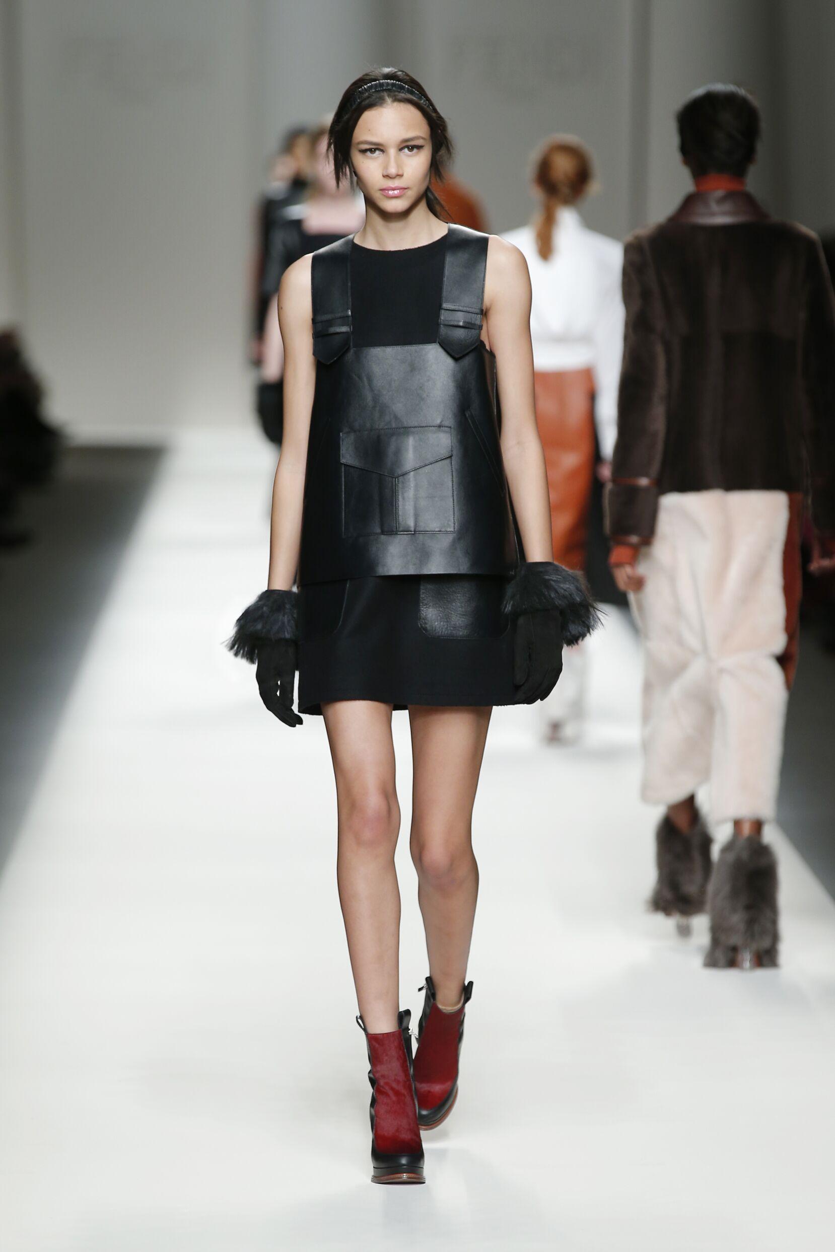 Fendi Fall Winter 2015 16 Womens Collection Milan Fashion Week