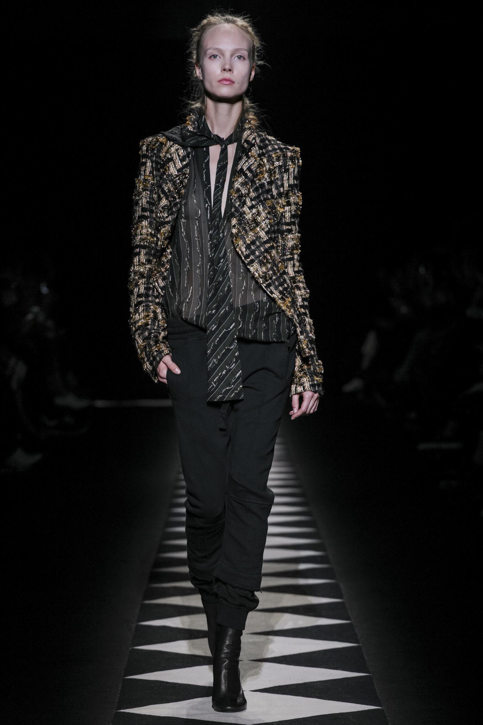 Haider Ackermann Collection Paris Fashion Week Womenswear