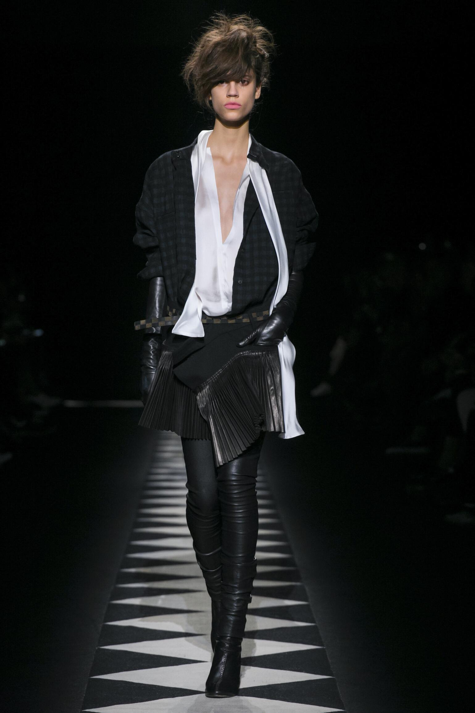 Haider Ackermann Fall Winter 2015 16 Womenswear Collection Paris Fashion Week Fashion Show