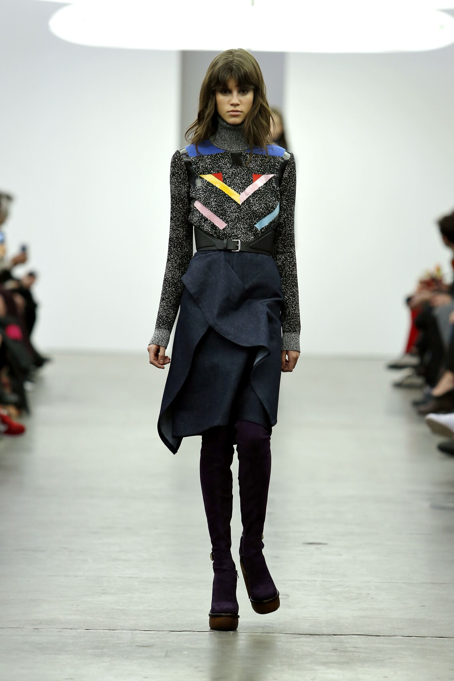 Iceberg Fall Winter 2015 16 Womenswear Collection Milan Fashion Week Fashion Show