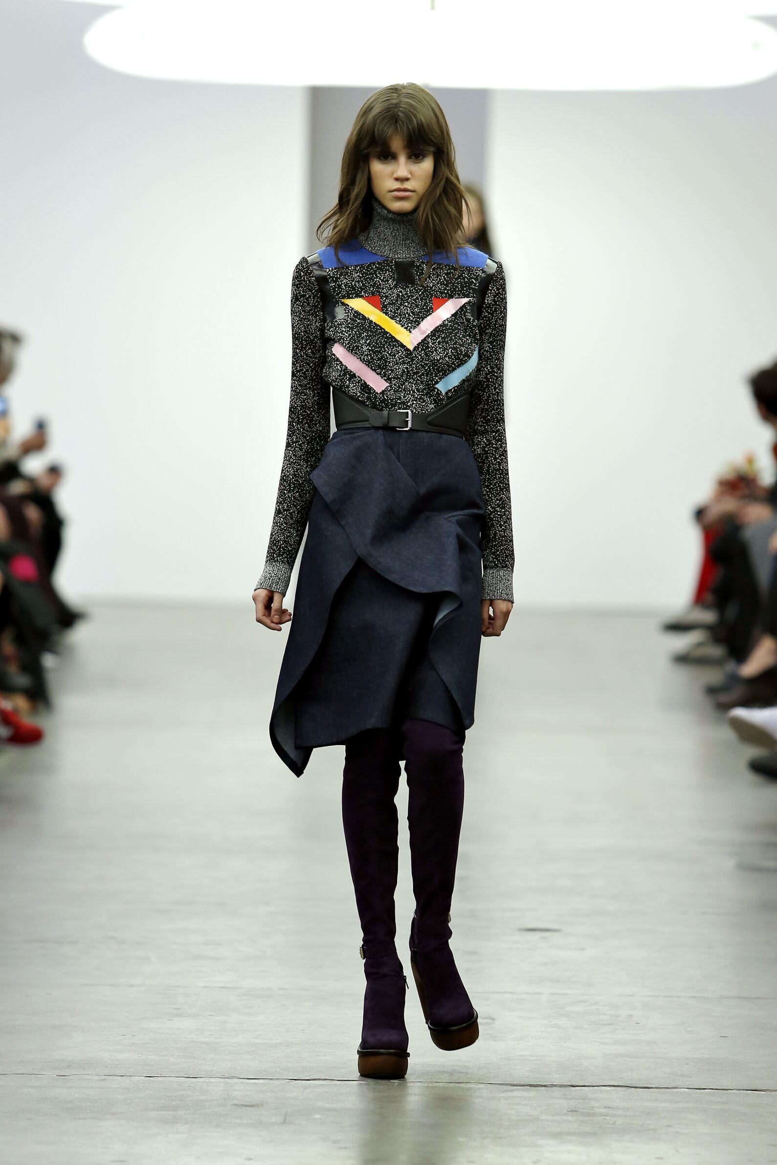 Iceberg Fall Winter 2015 16 Womenswear Collection Milan Fashion Week Fashion Show