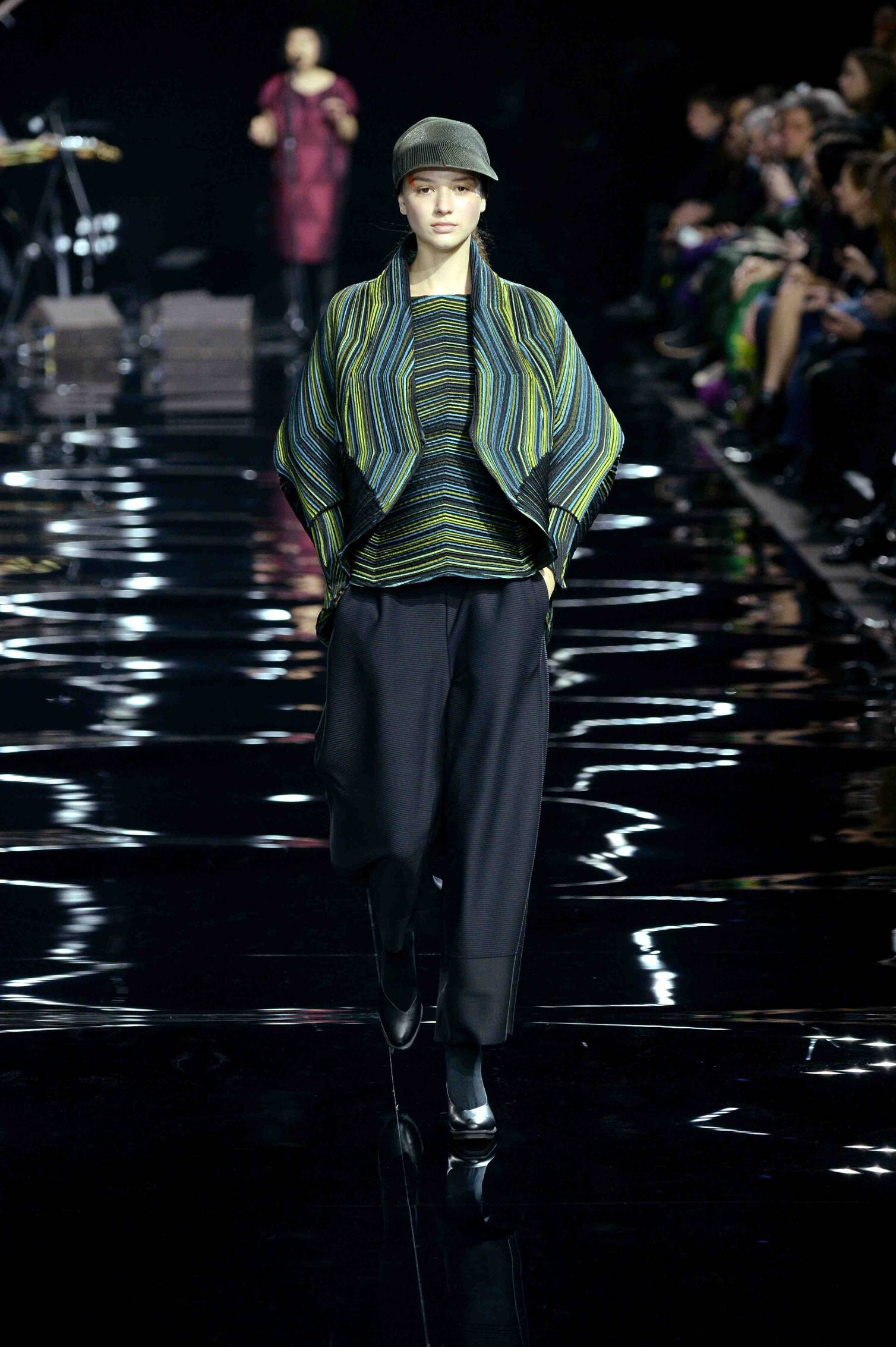Issey Miyake Collection Woman Paris Fashion Week