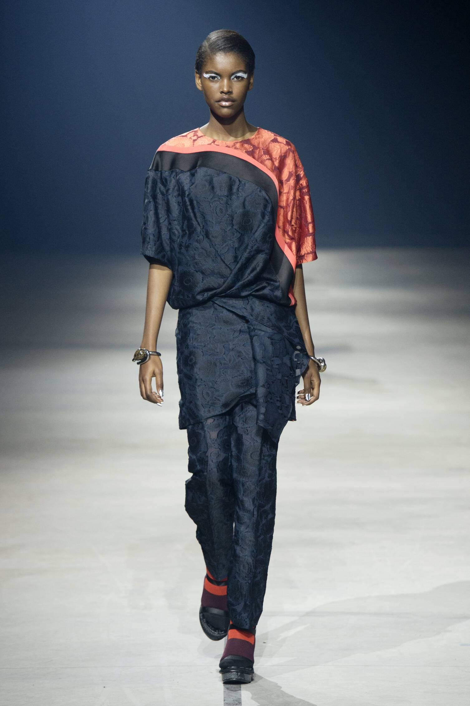 Kenzo Collection Paris Fashion Week Womenswear