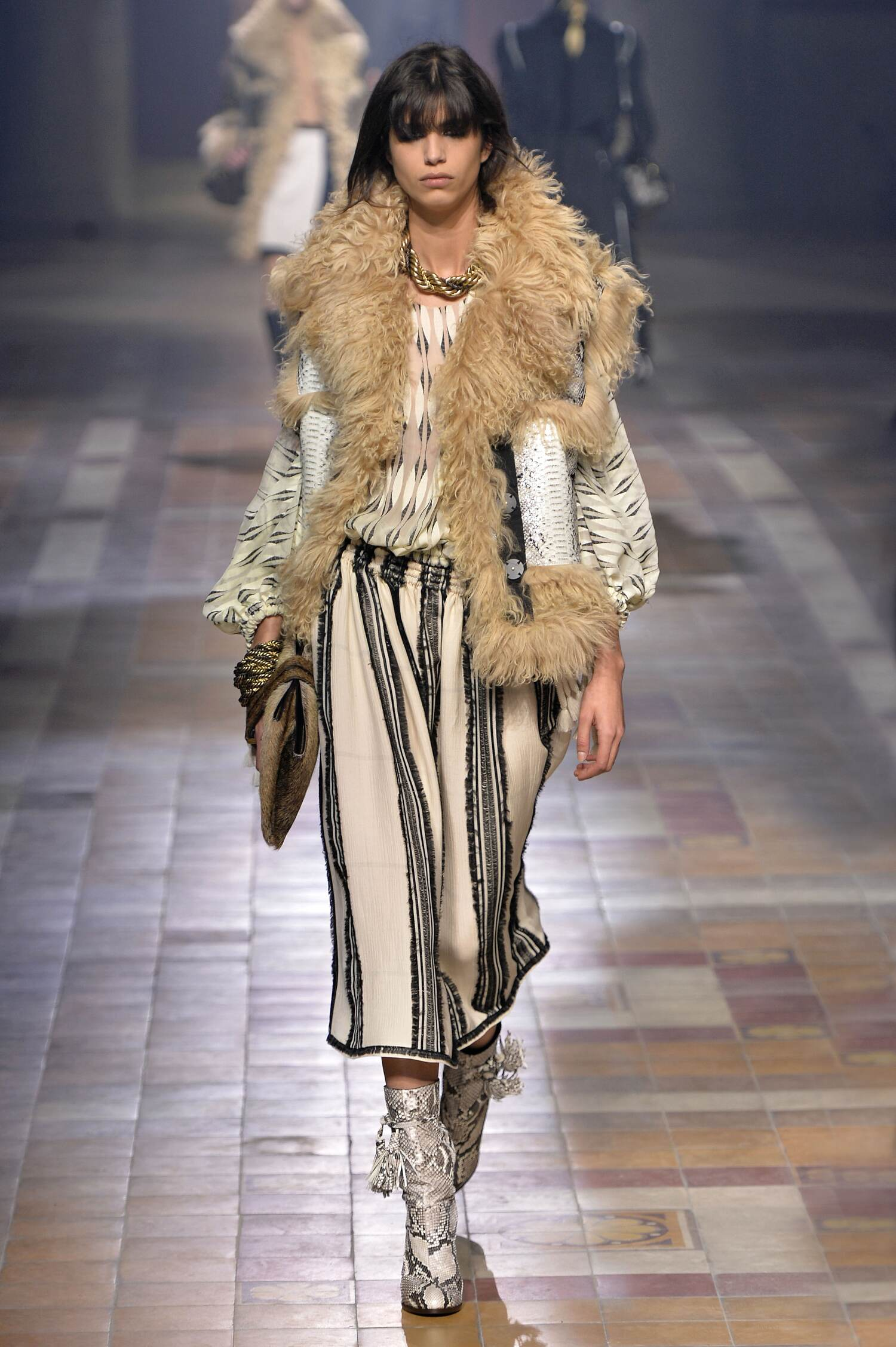 Lanvin Collection Fall 2015 Catwalk
