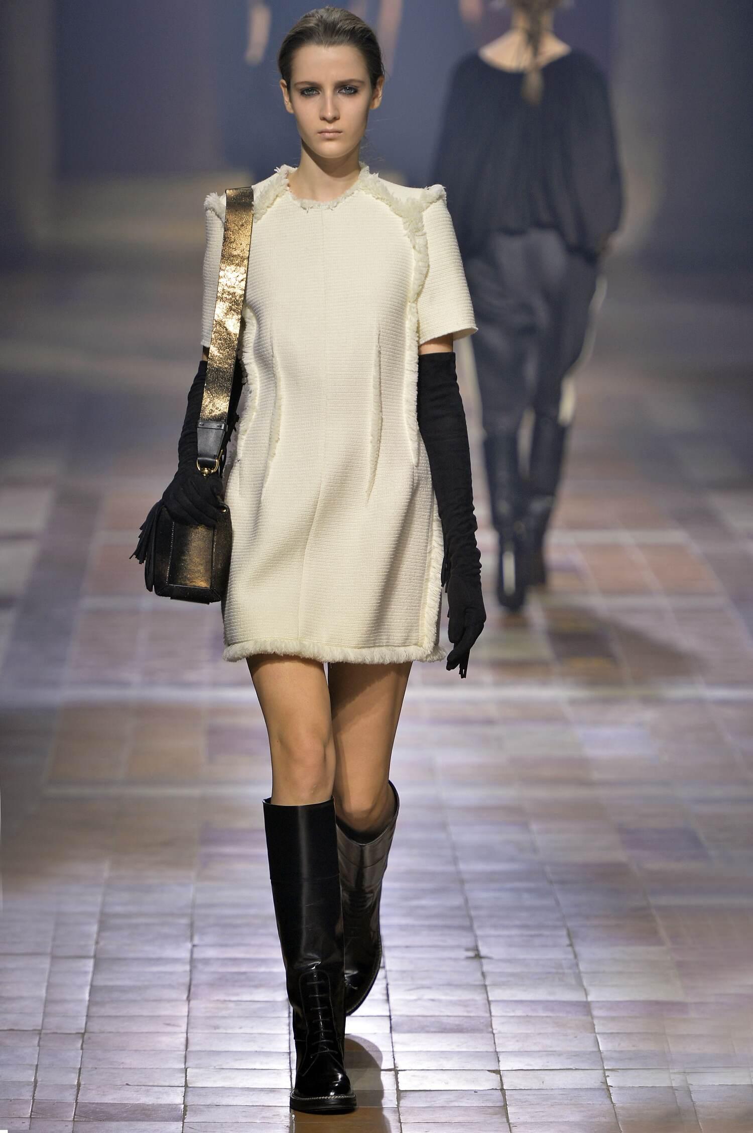 Lanvin Collection Paris Fashion Week Womenswear