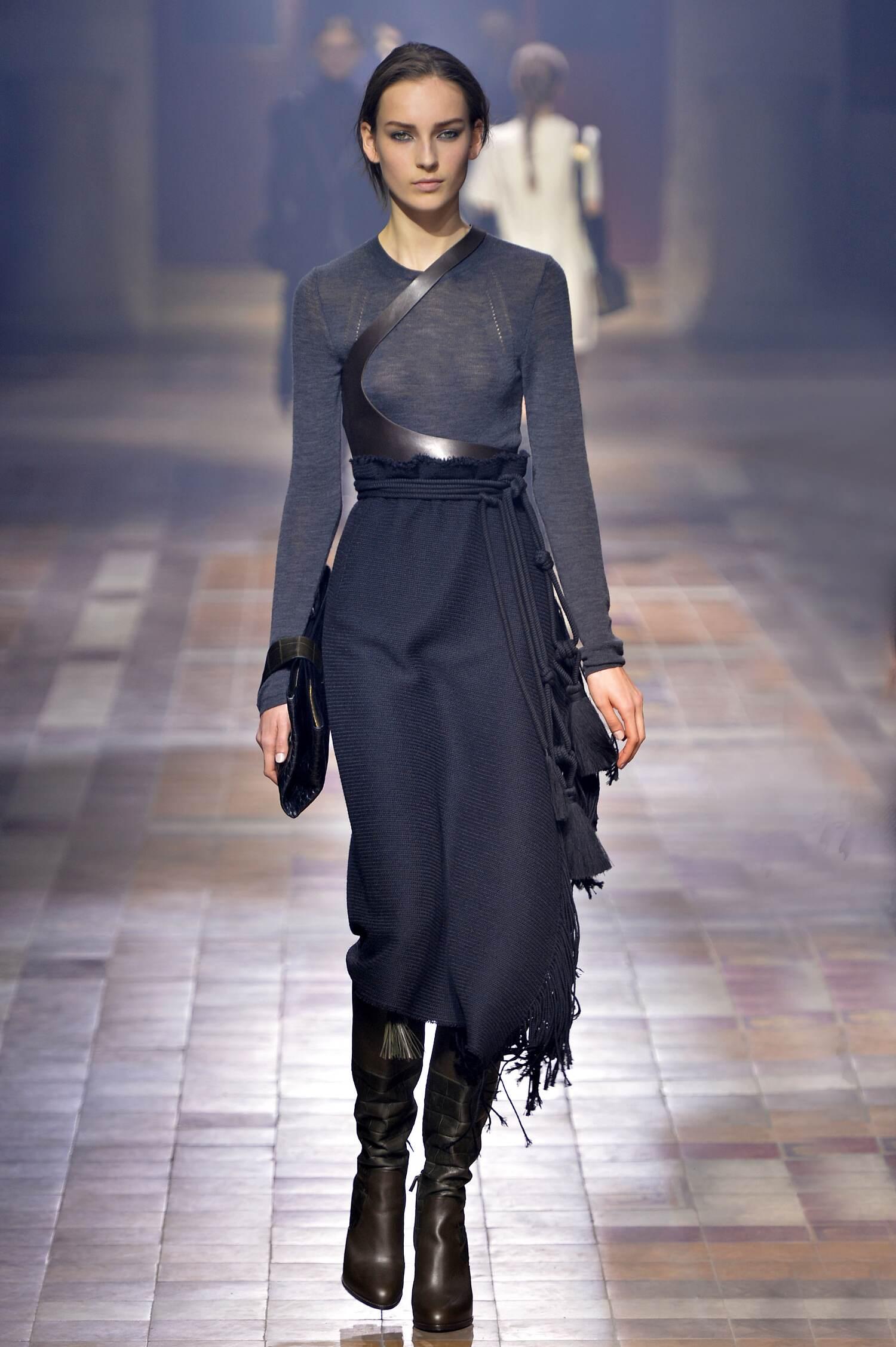 Lanvin Collection Woman Paris Fashion Week