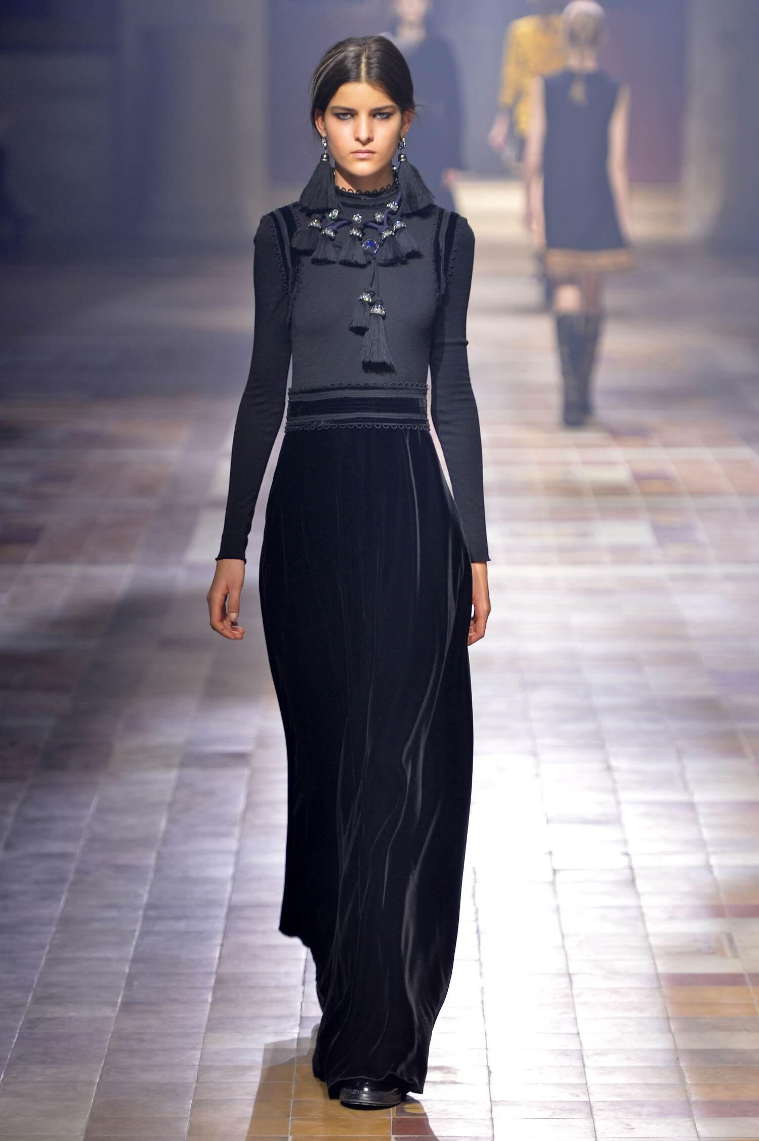 Lanvin Fall Winter 2015 16 Womenswear Paris Fashion Week