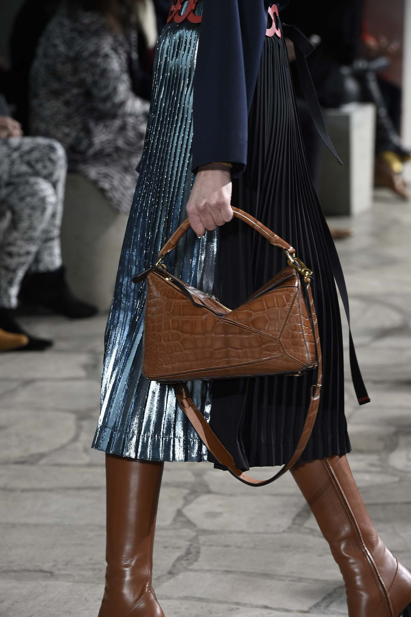 Loewe Bag Detail Collection Trends Fall 2015 Catwalk