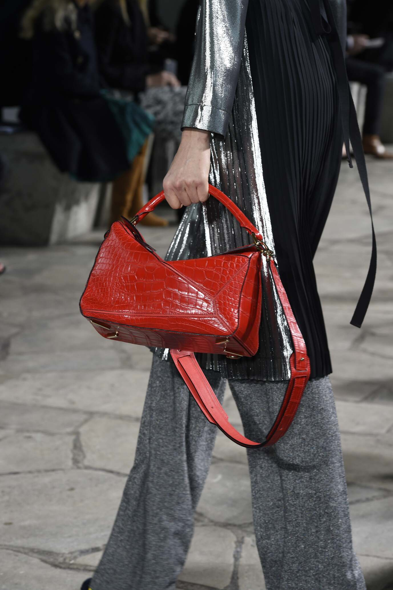Loewe Bag Detail Fall Winter 2015 16 Women's Collection Paris Fashion Week