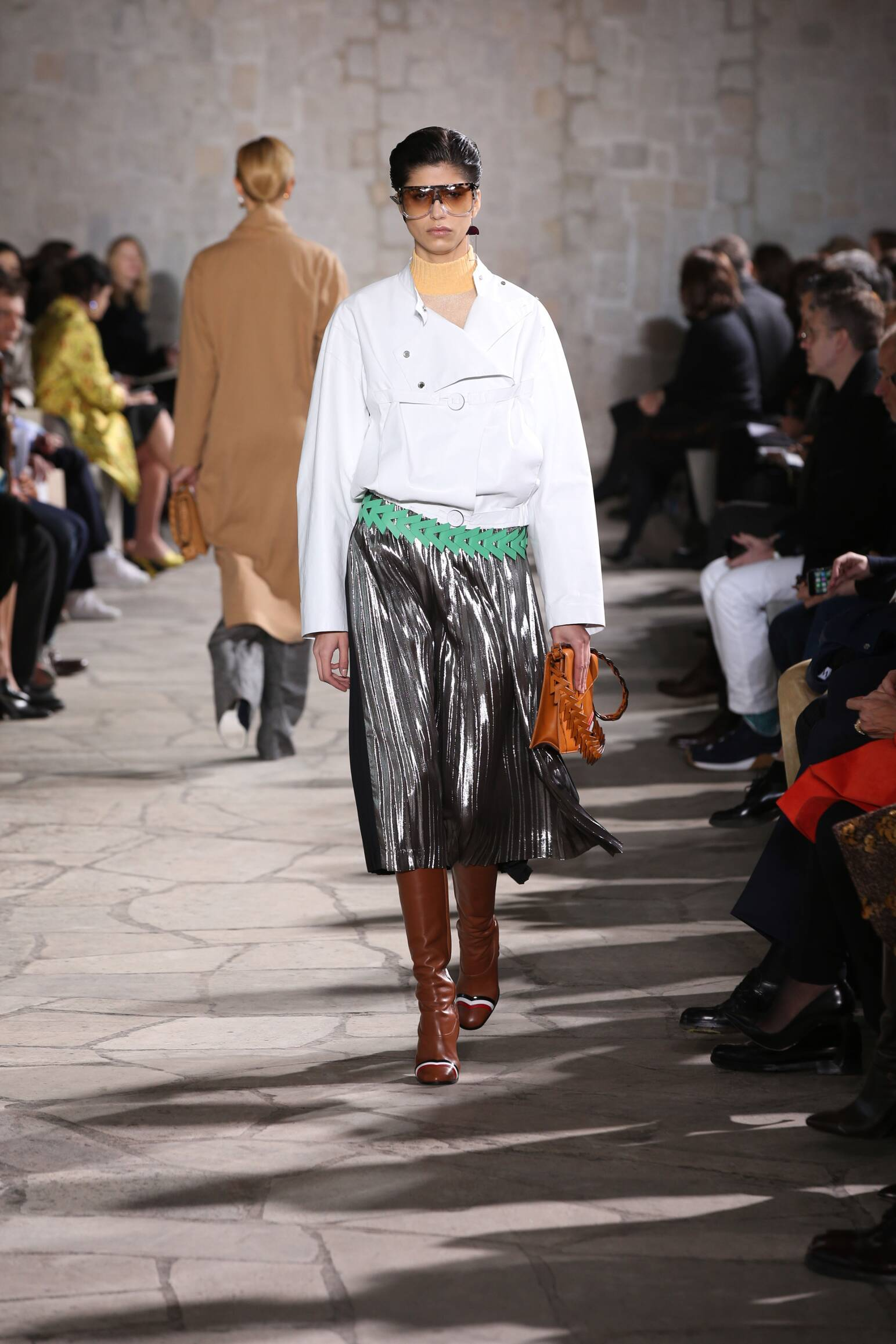 Loewe Collection Woman Paris Fashion Week