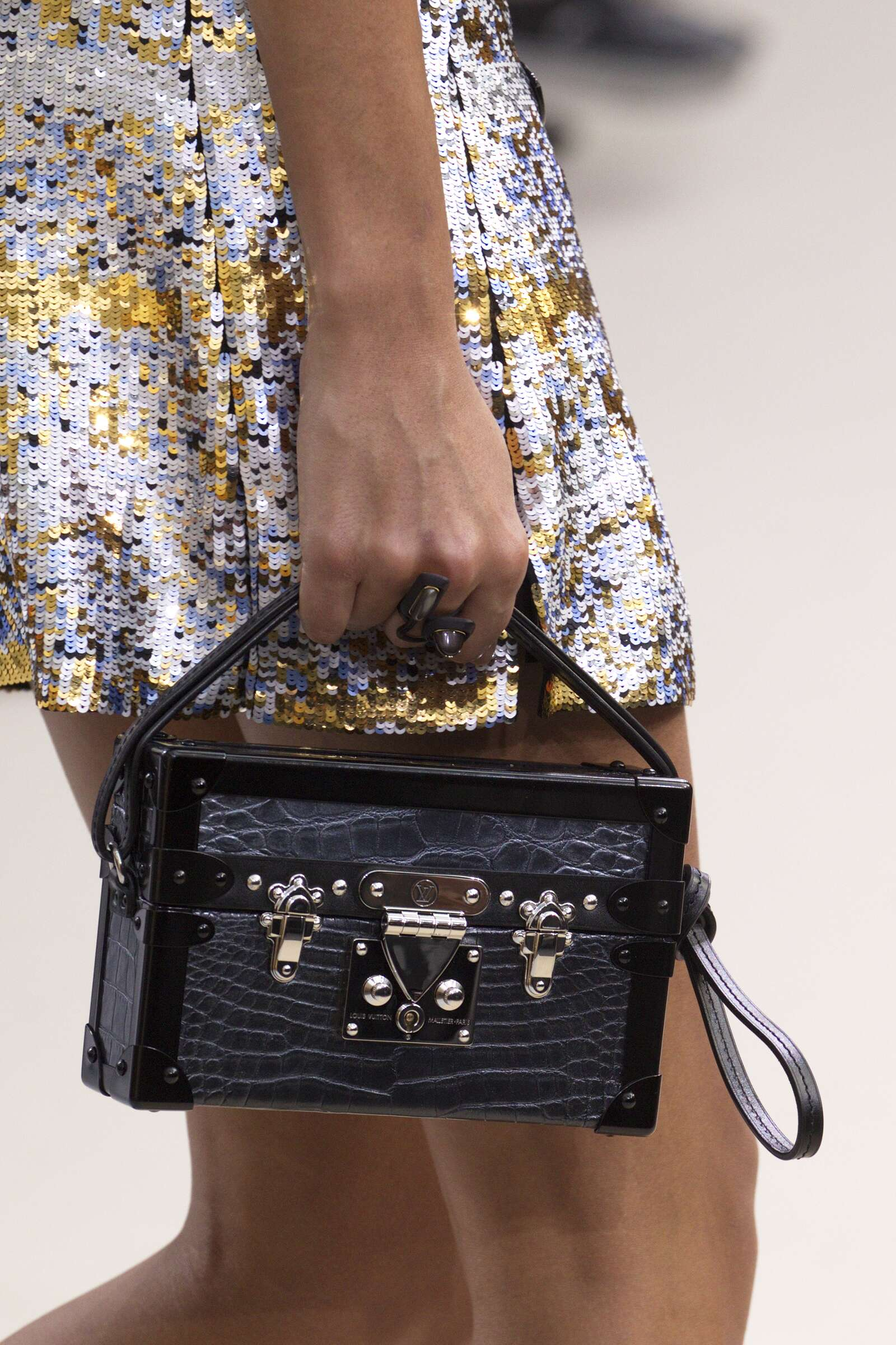 Louis Vuitton Bag Details Fashion Show
