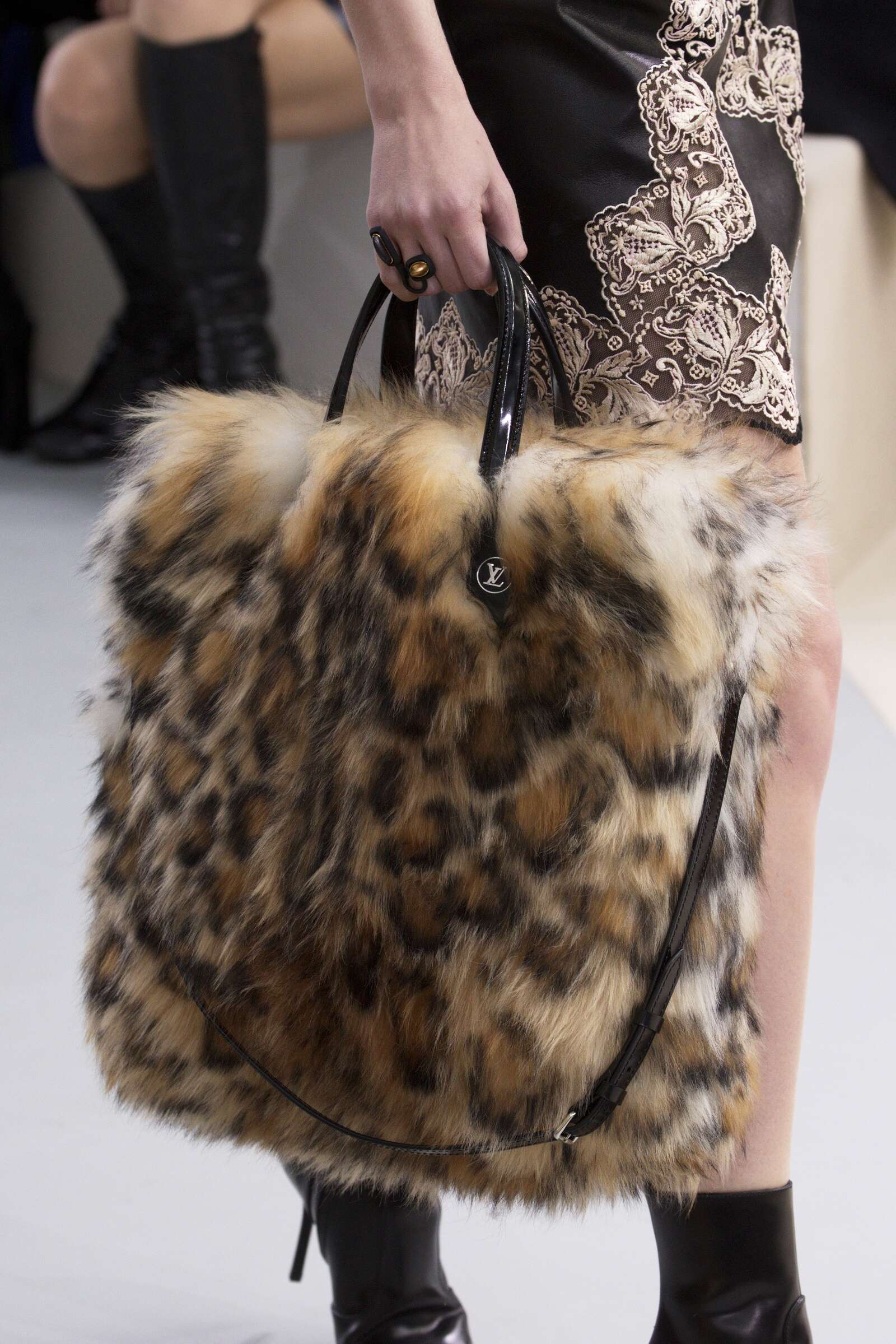 Louis Vuitton Bag Details Runway