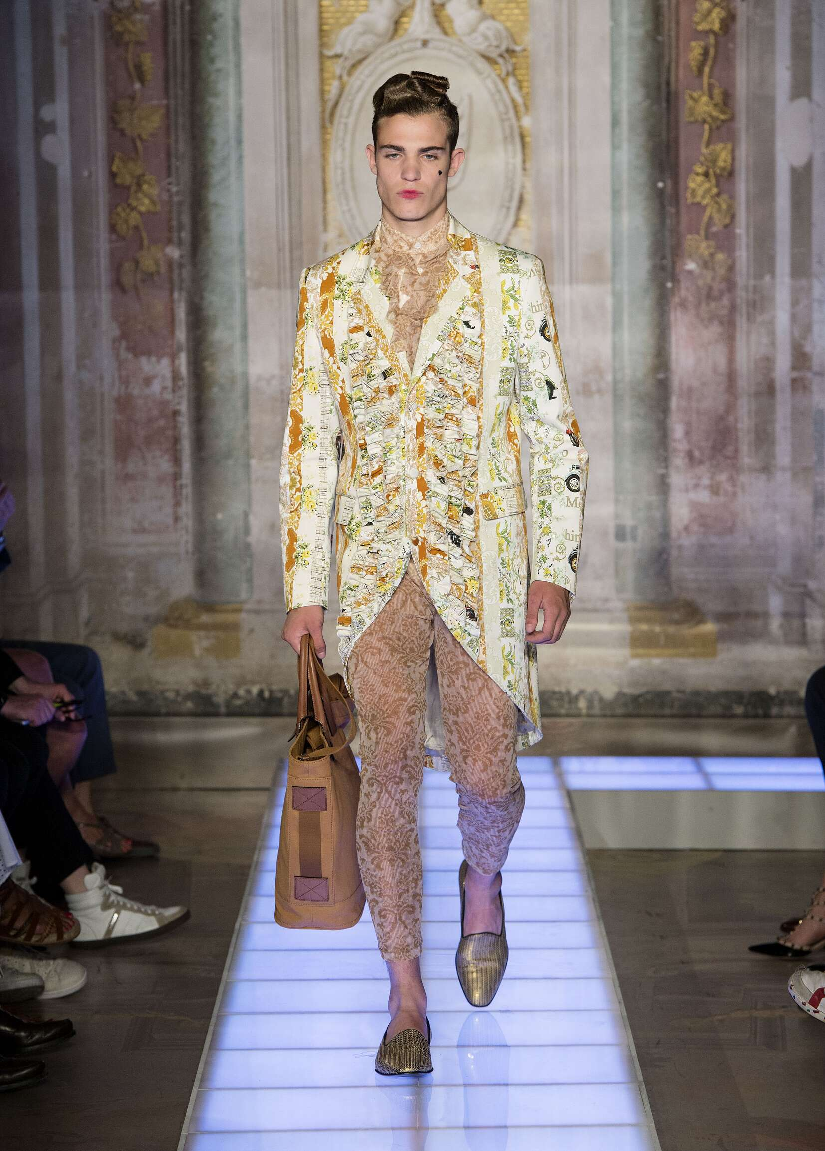 Moschino Collection Man Pitti Immagine Florence