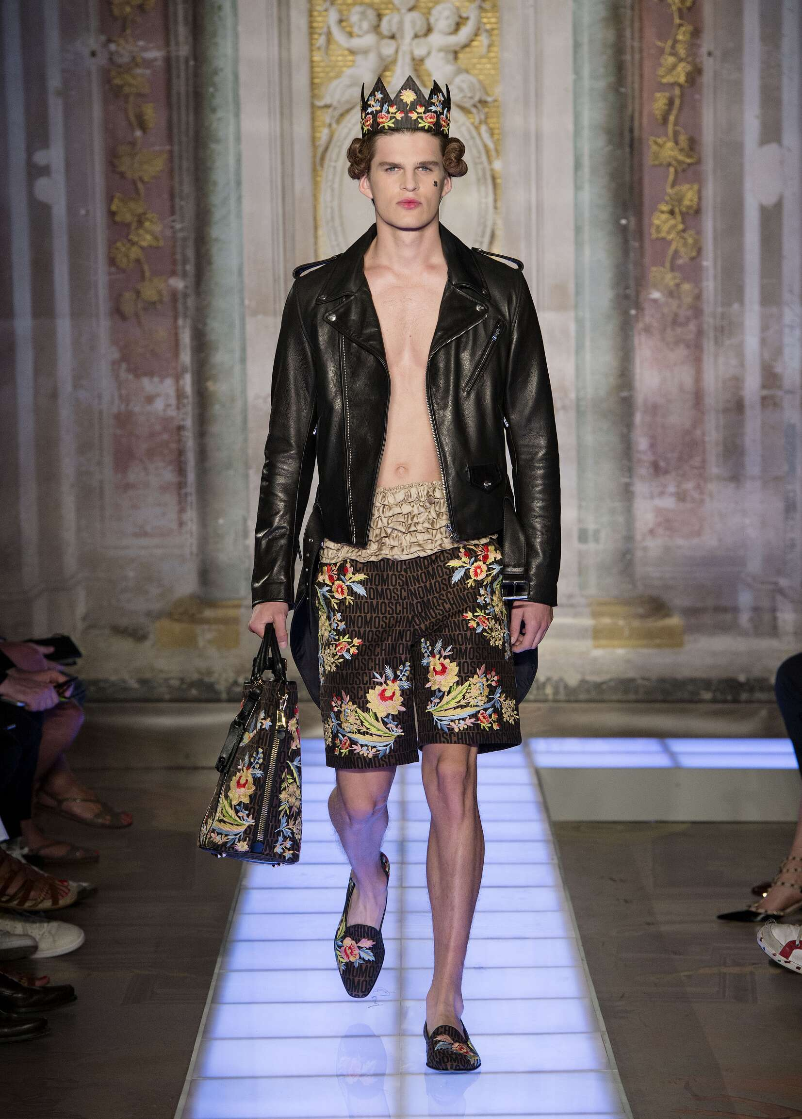 Moschino Collection Pitti Immagine Florence Menswear