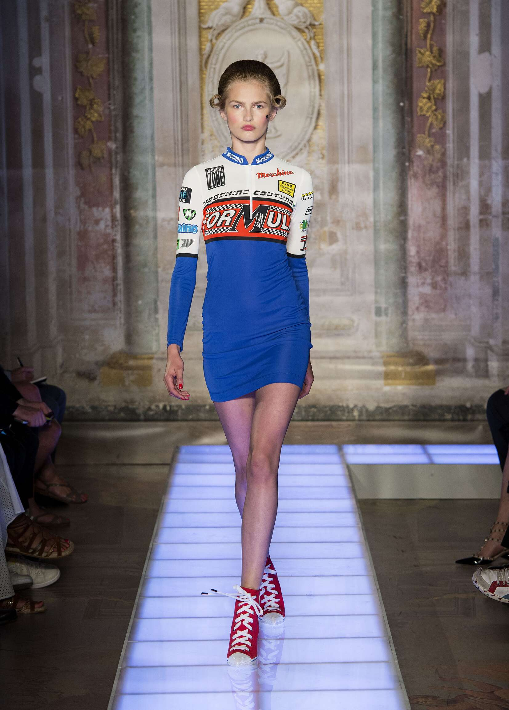 Moschino Spring Summer 2016 Womenswear Collection Pitti Immagine Florence Fashion Show