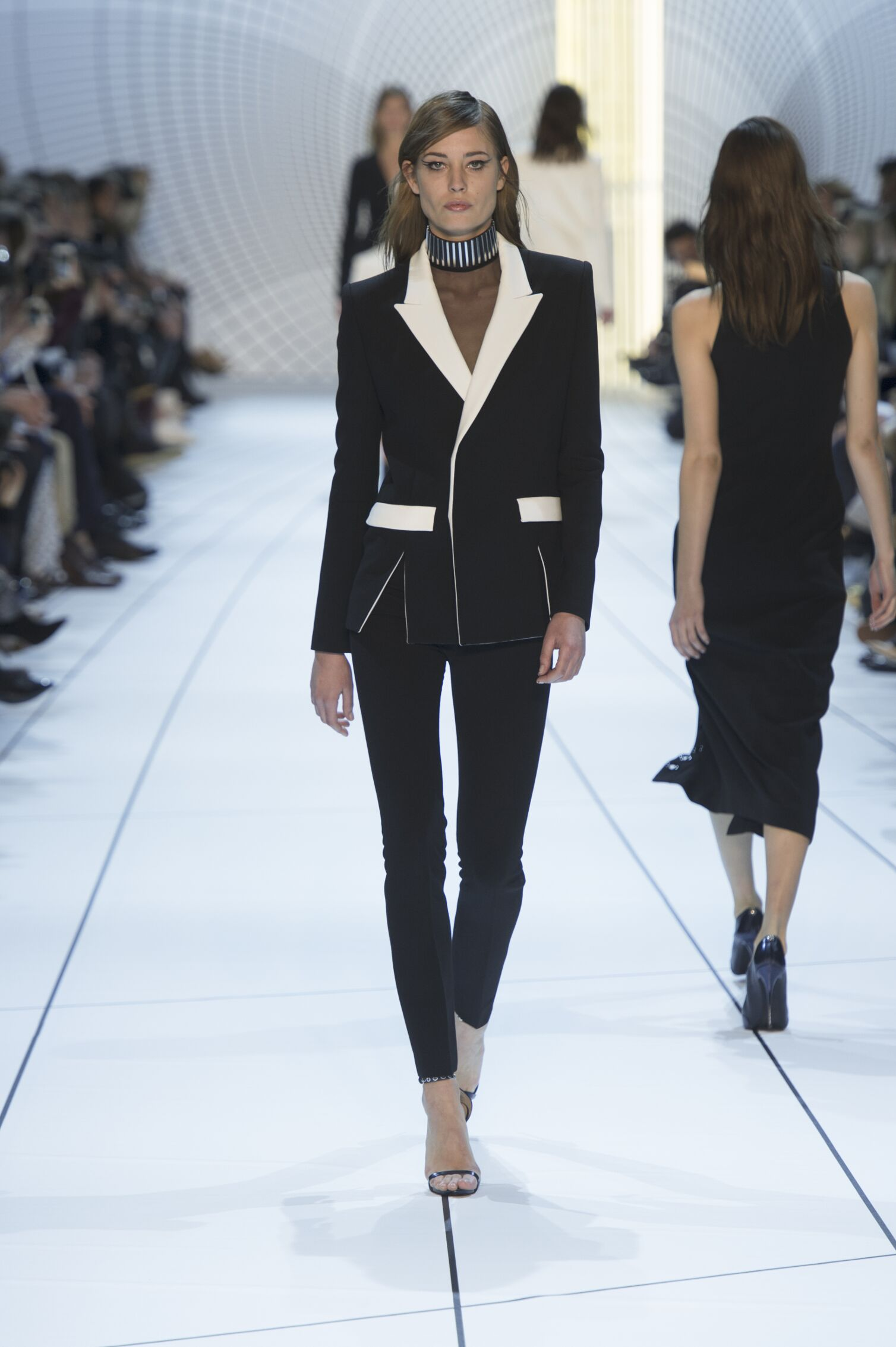 Mugler Collection Woman Paris Fashion Week