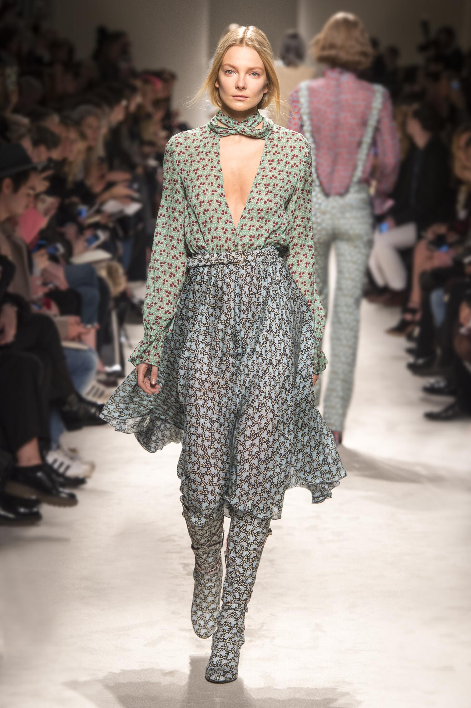 Philosophy di Lorenzo Serafini Collection Woman Milan Fashion Week
