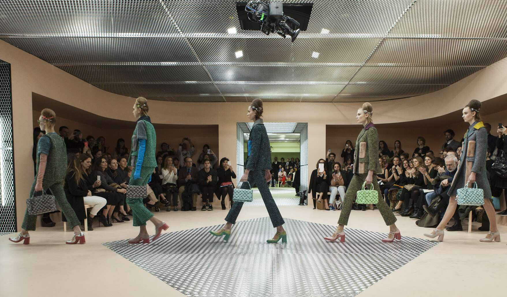 Prada Collection 2015 Finale