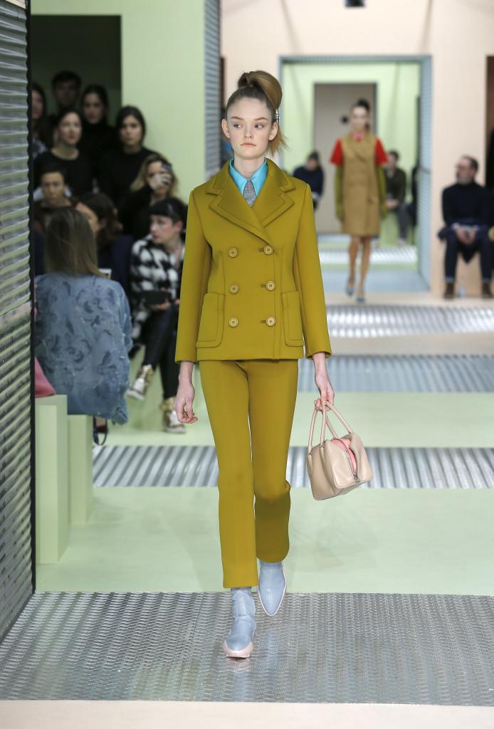 Prada Collection Milan Fashion Week Womenswear