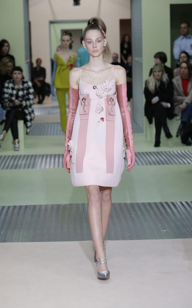 Prada Collection Milan Fashion Week