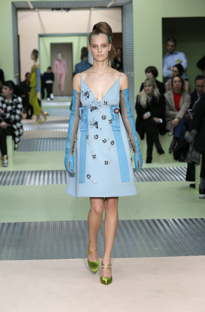 Prada Fall Winter 2015 16 Womens Collection Milan Fashion Week