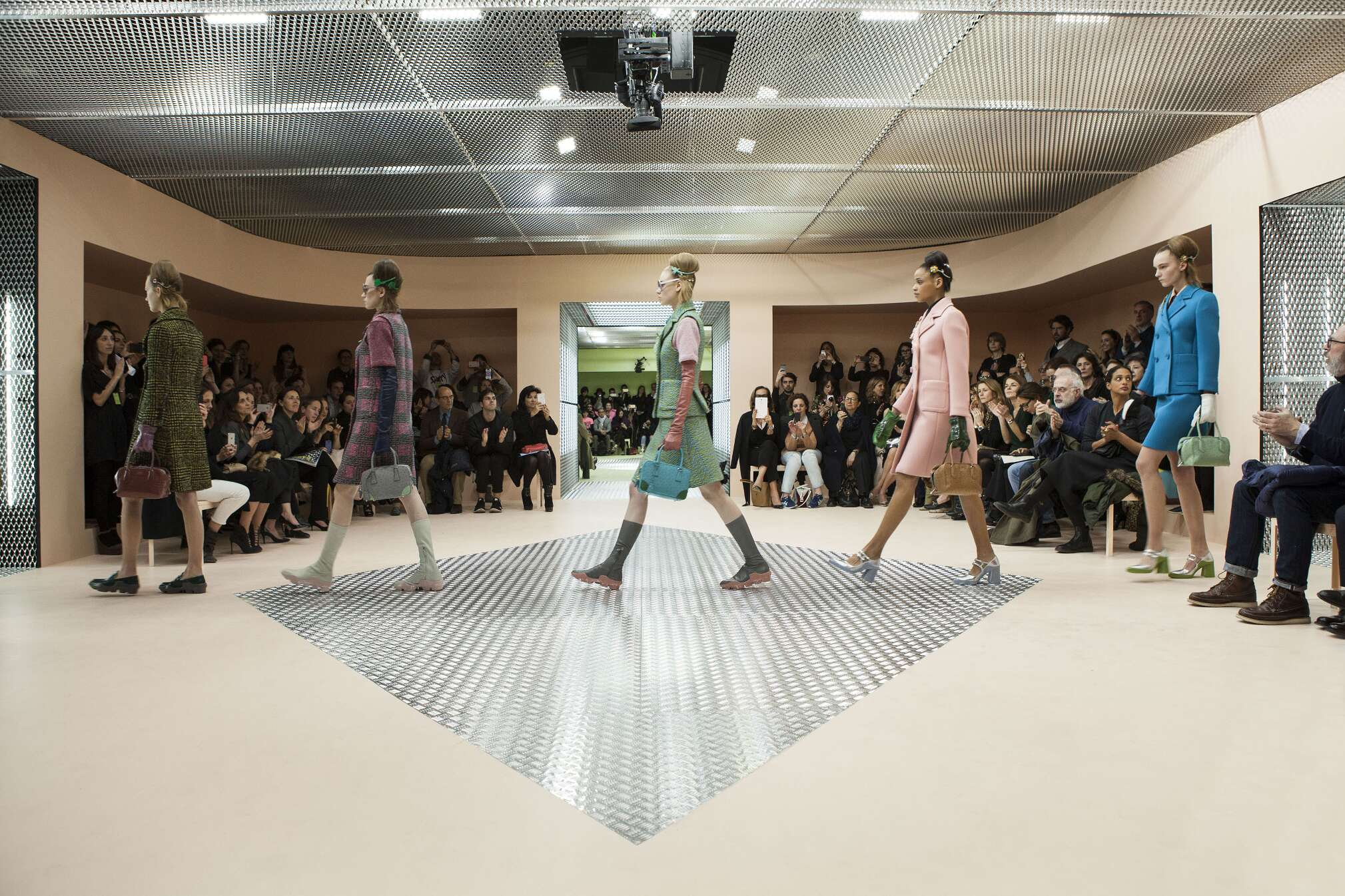 Prada Showspace Woman Milan Fashion Week Finale