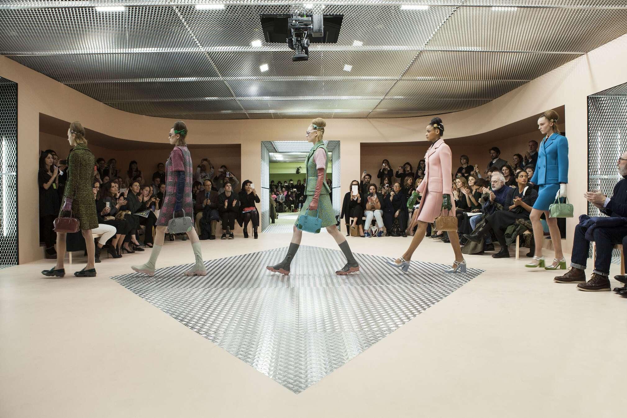 Prada Showspace Woman Milan Fashion Week Finale